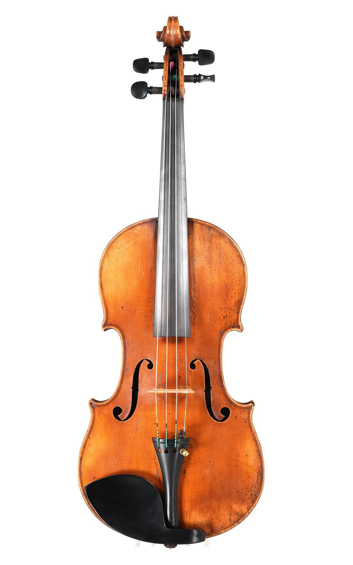 Violine von Jean-Joseph Honoré Derazey