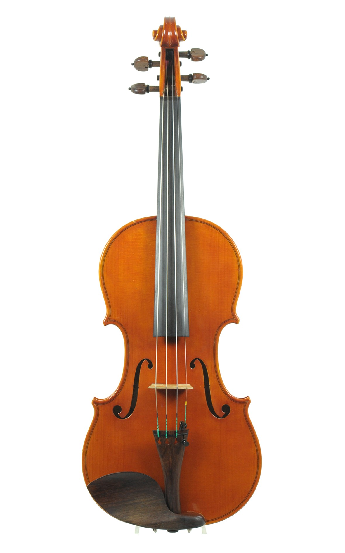Contemporary Italian master violin by Nicola Vendrame - table