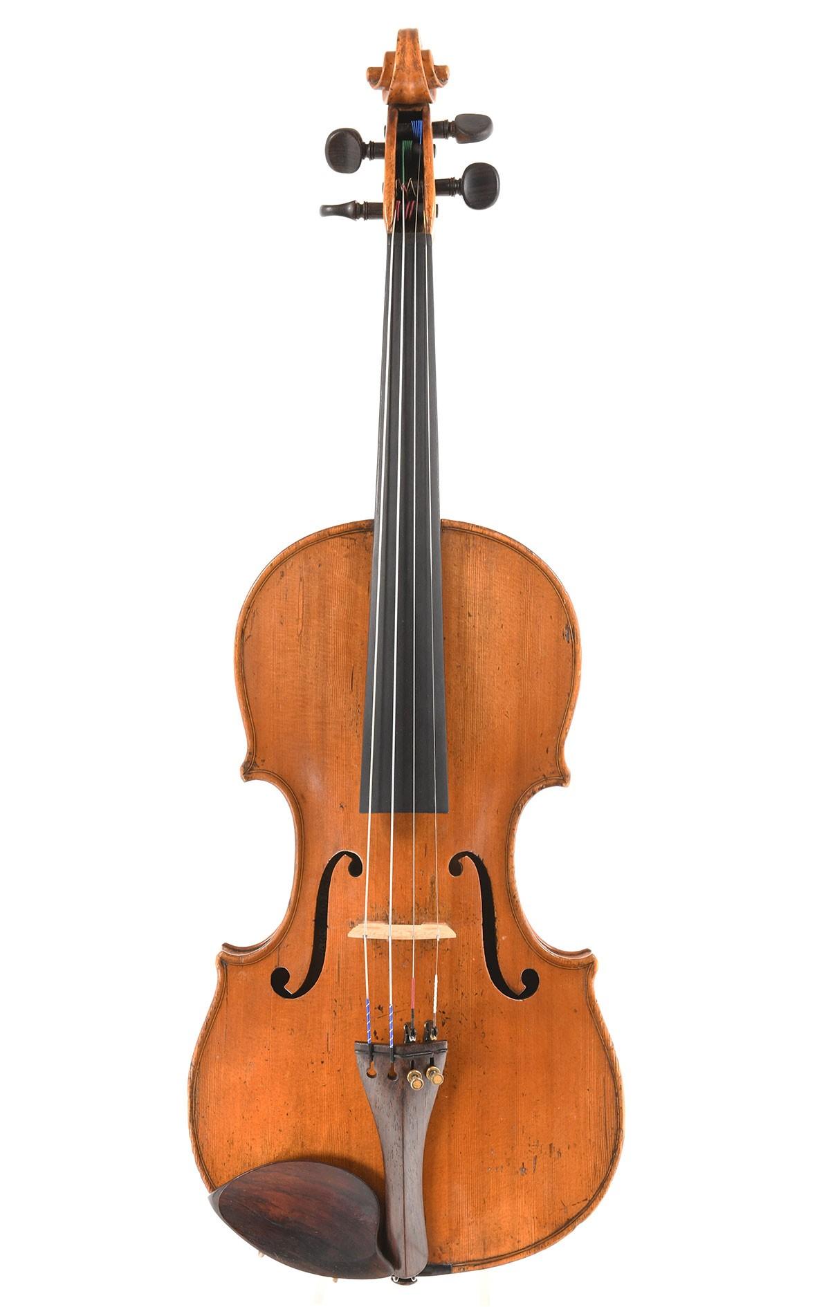 Feine Französische Violine, circa 1750 (Zertifikat Etienne Vatelot)