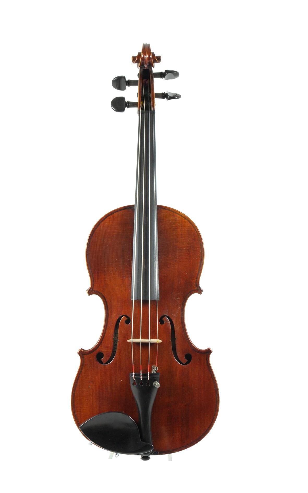 J.T.L. violin, Le Lorrain, approx. 1910 - top