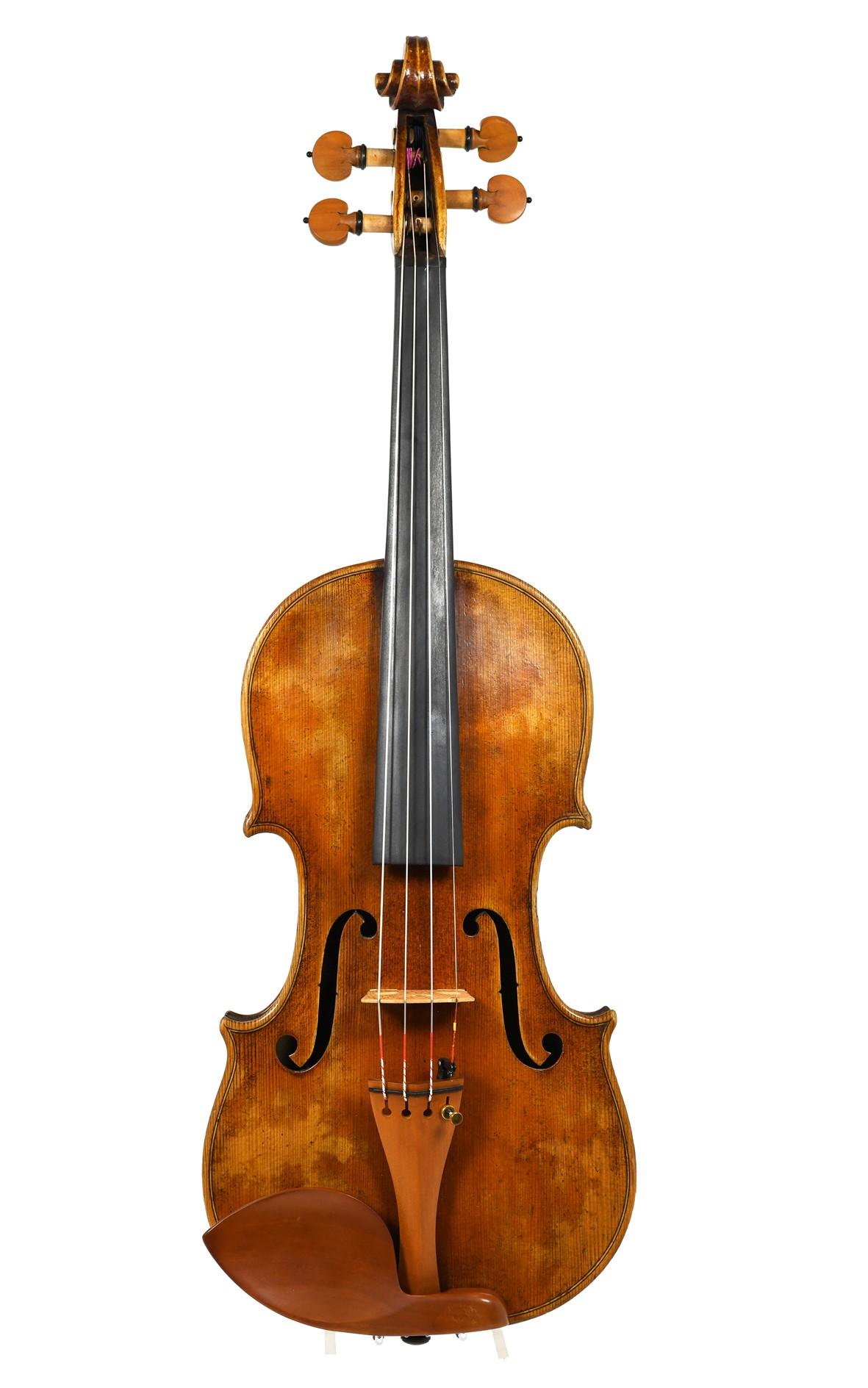 Damengeige, 7/8 Geige - Decke