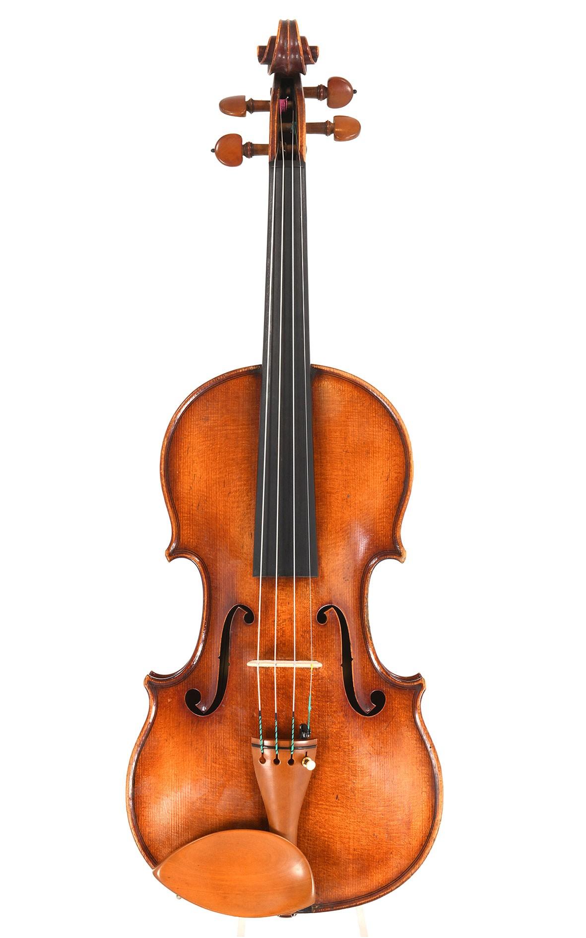 Fine Parisian master violin by Daniel Moinel
