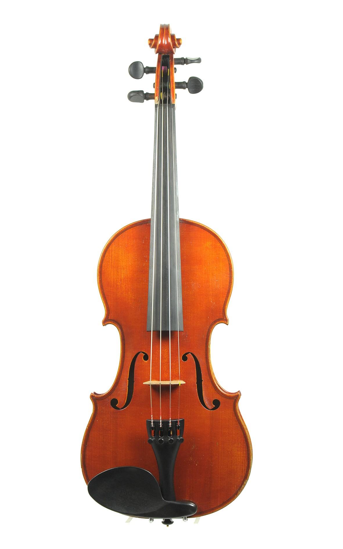 3/4 master violin, Kurt Meisel, 1922 - top