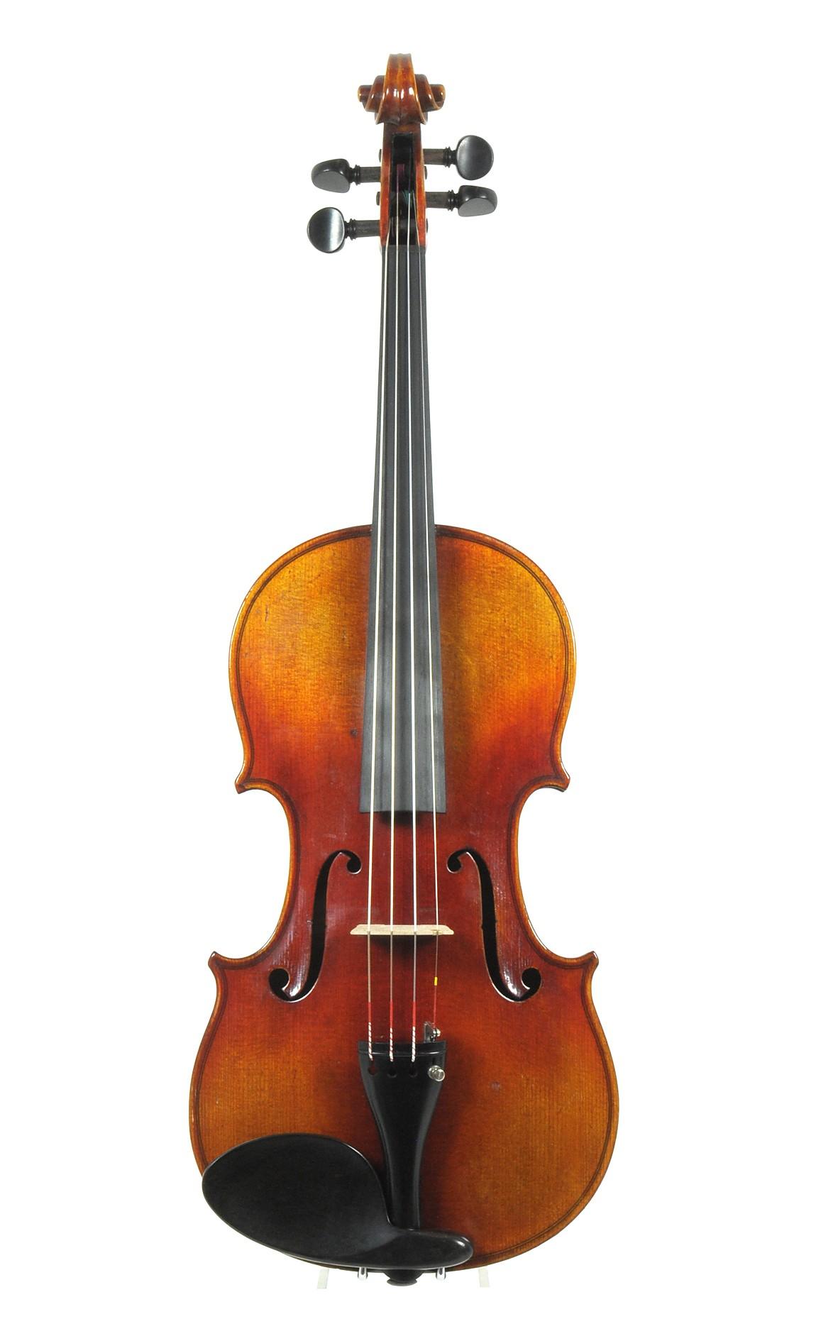Strong sounding German violin, Saxony c.1960 - back