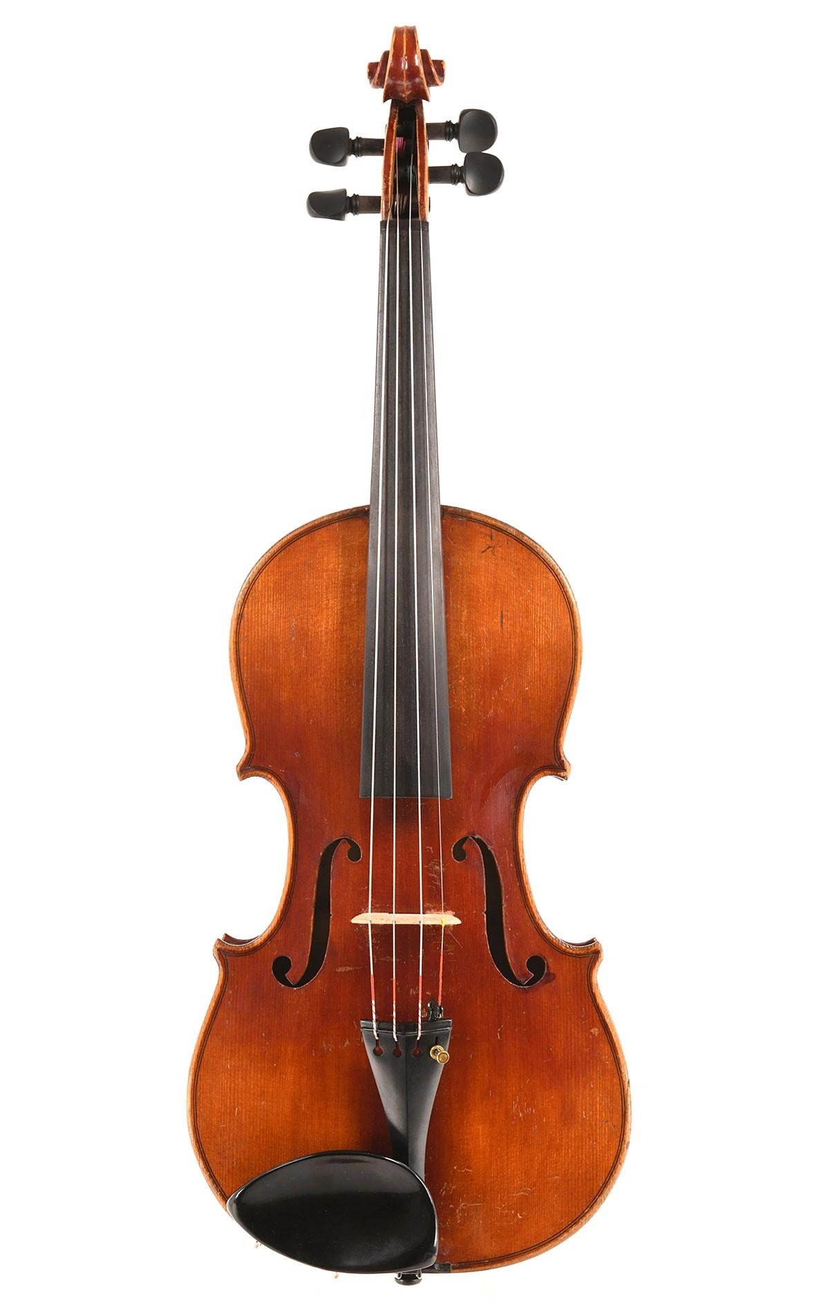 Antike Geige aus Mittenwald, um 1870