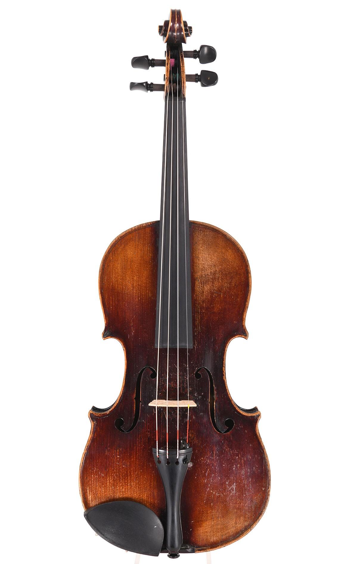 Antique Mittenwald violin by Johann Fürst, built 1860
