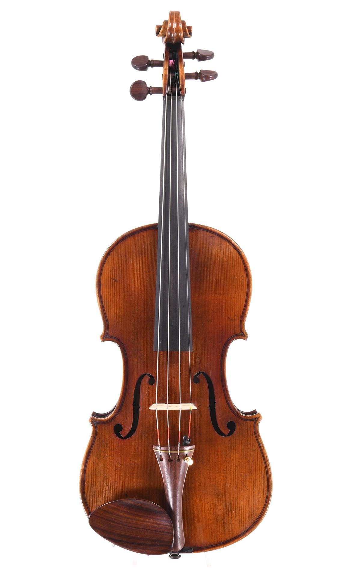 Belgische Geige aus der Werkstatt von Henri Delille