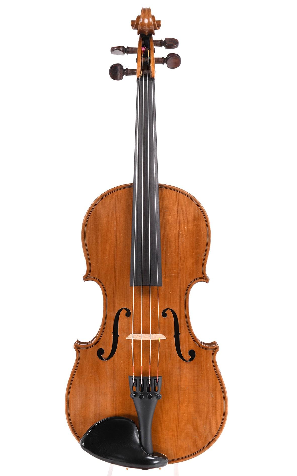 Antique French 3/4 violin from Mirecourt, Lutherie Masspacher