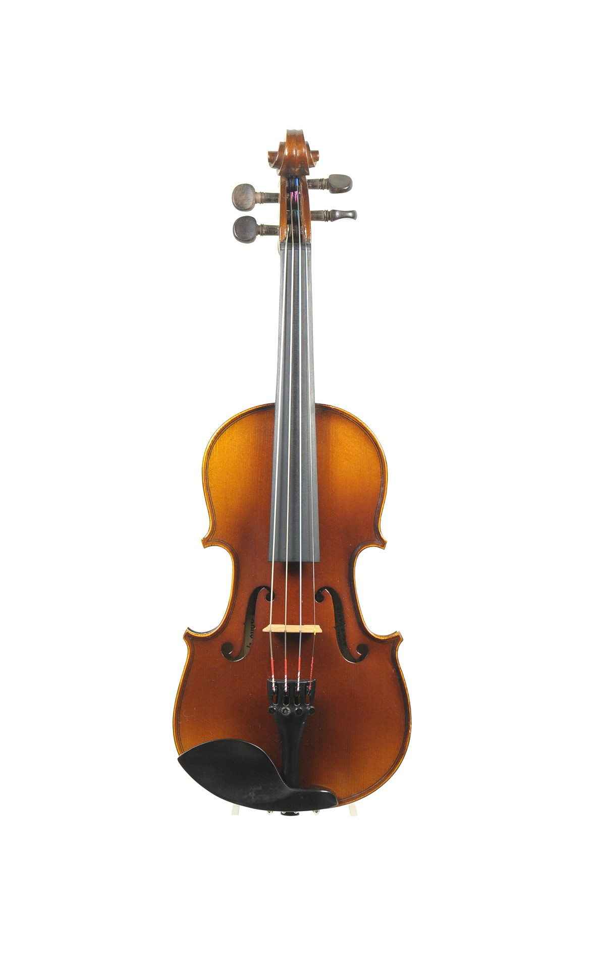1/8 violin, French, approx. 1900, Paul Beuscher - top view