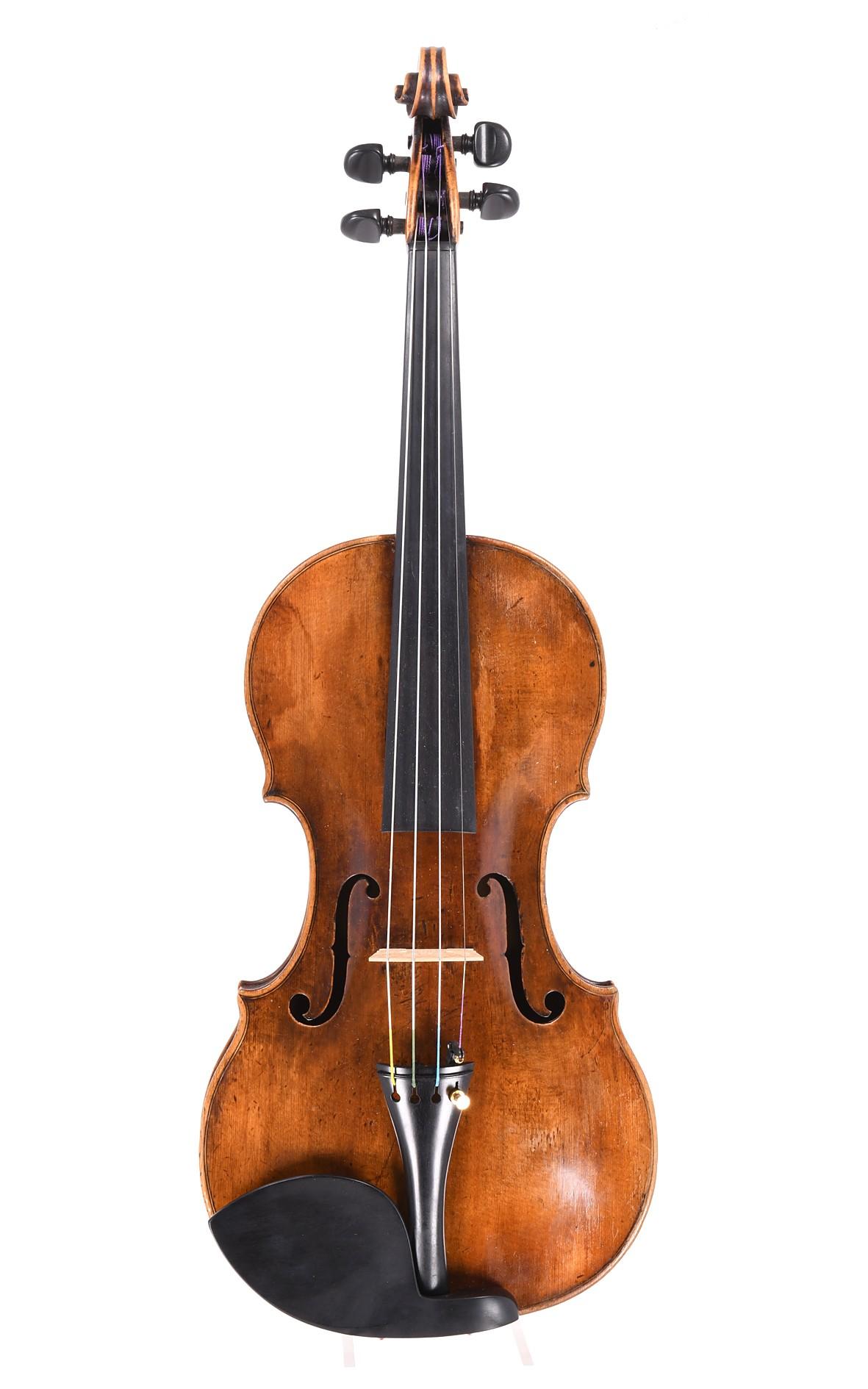 Sebastian Klotz: fine Mittenwald violin