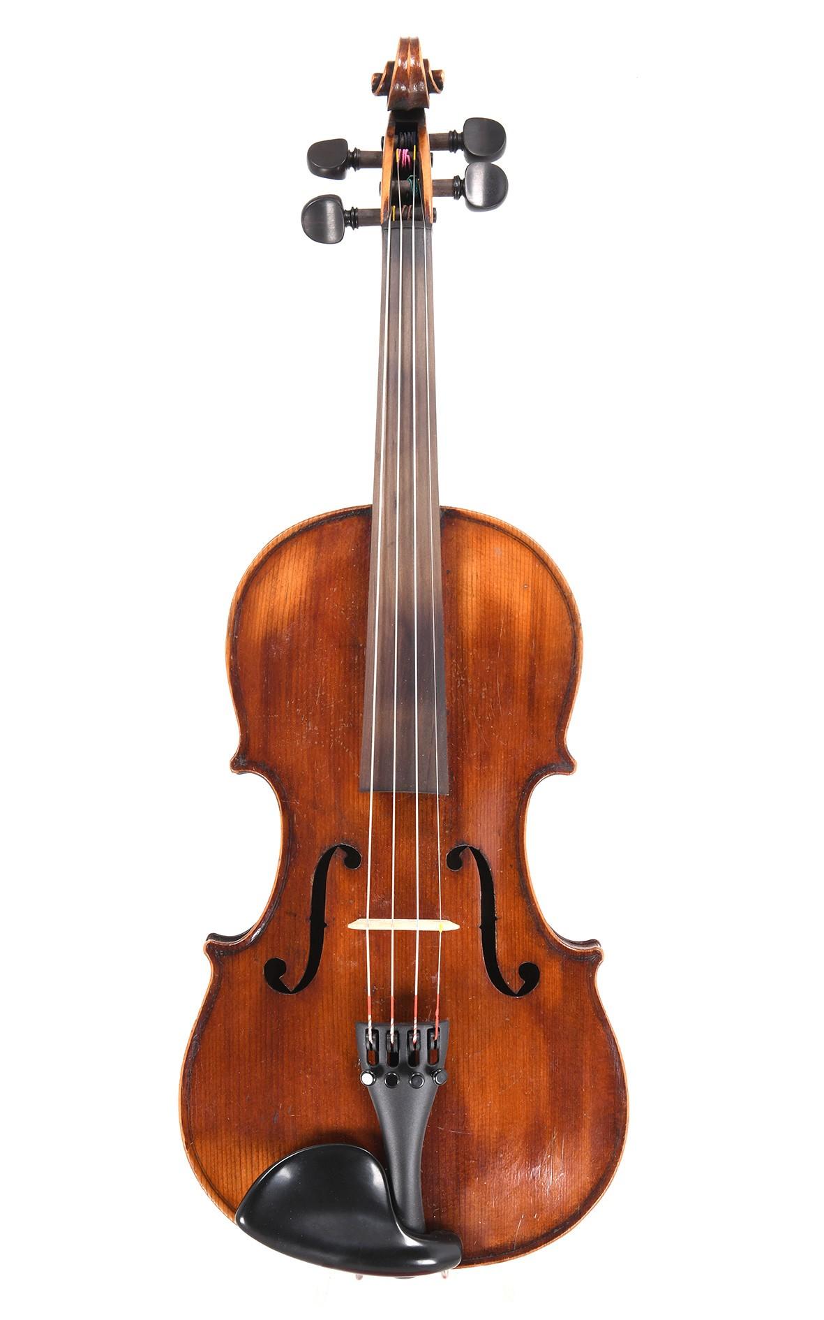 Antique French 3/4 violin by JTL, Mirecourt. Medio-Fino model