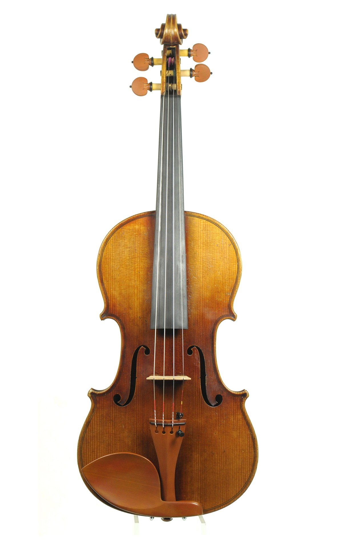 German violin by Julius Heinrich Zimmermann - table