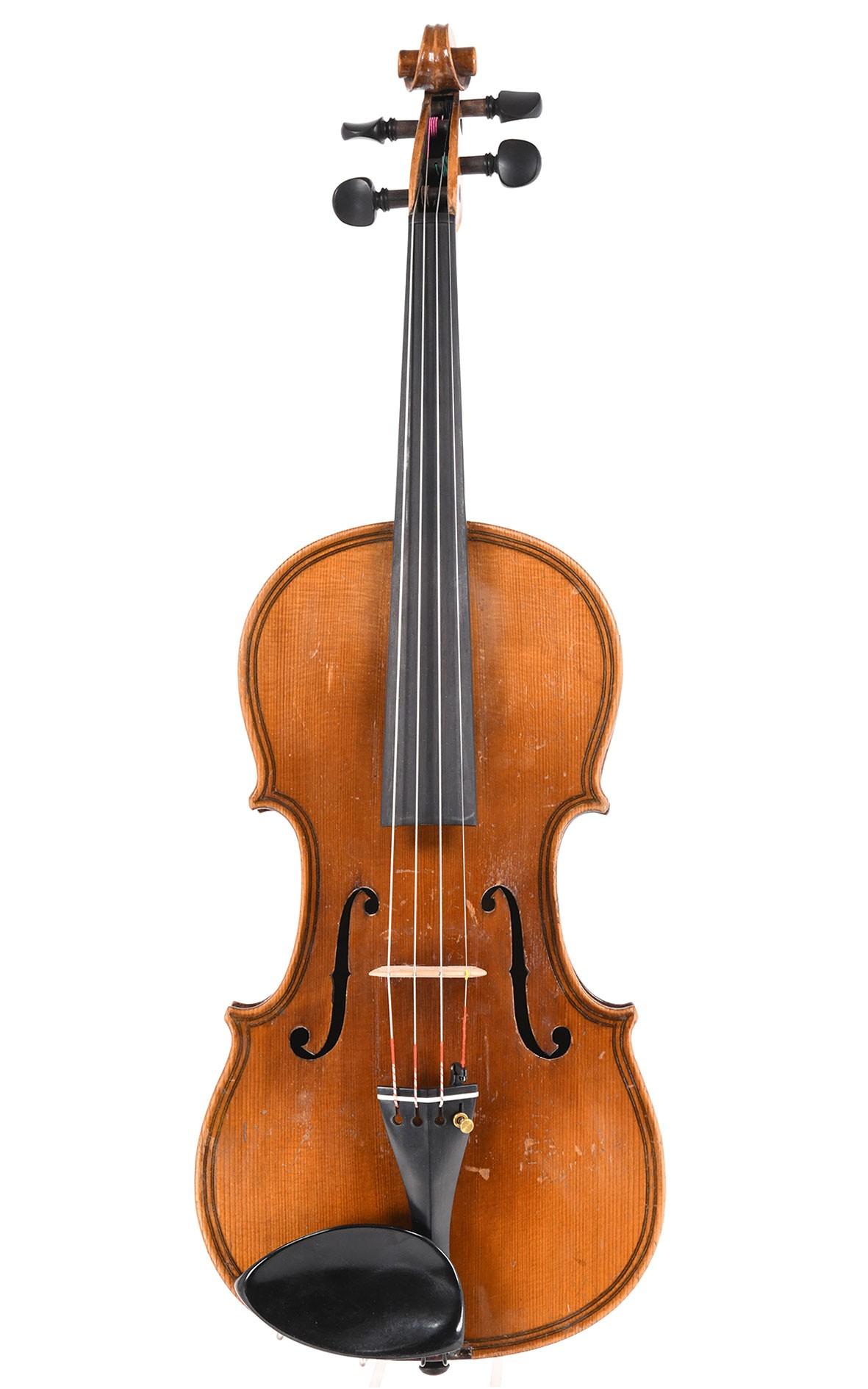 Vieux violon allemand d'après le modèle de Da Salo, années 1920
