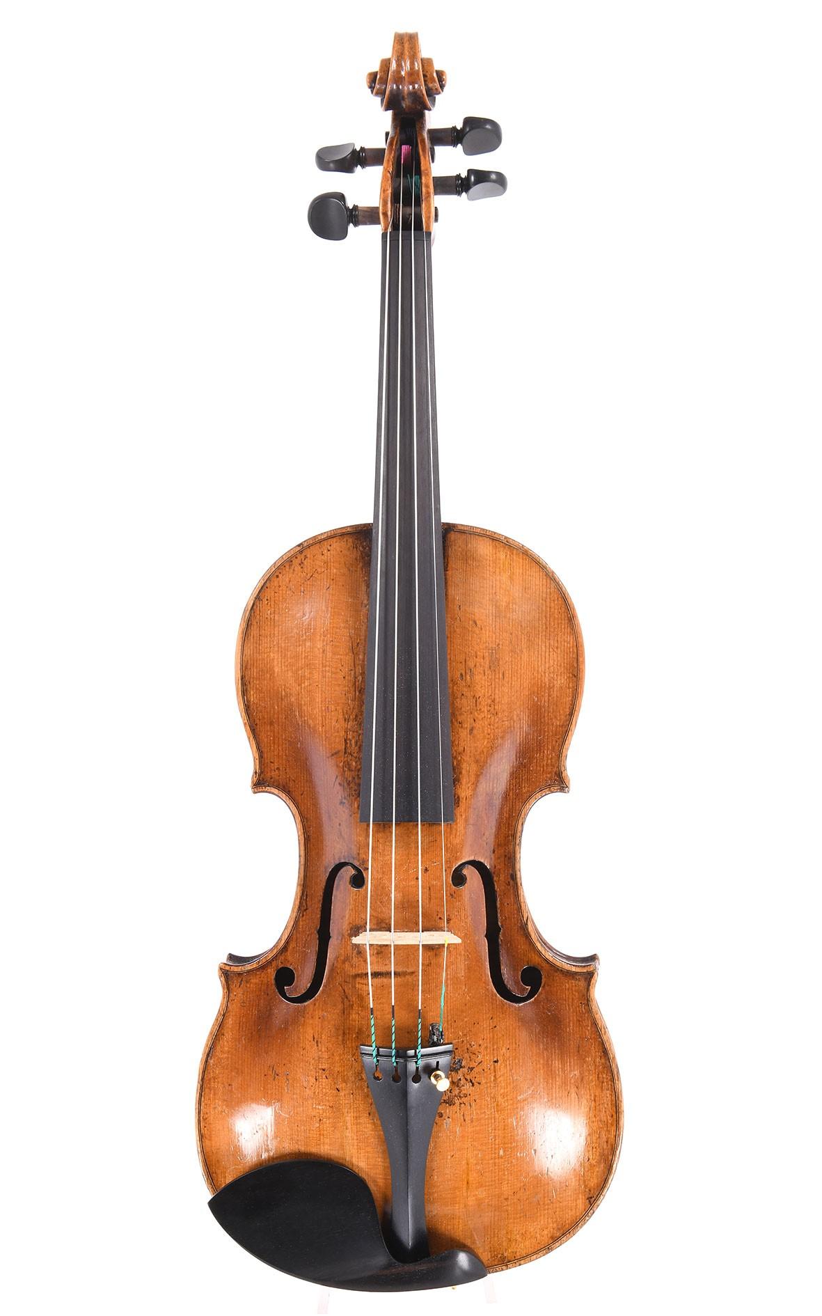 Johann Gottlob Ficker, violon allemand de maitre, depuis 1800