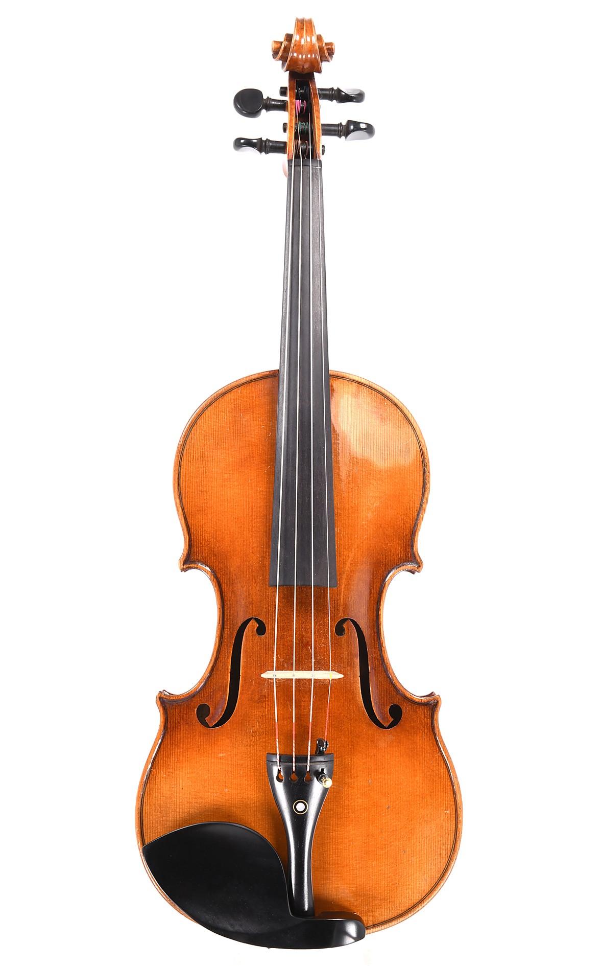 Hübsche alte böhmische Geige, 1920er Jahre
