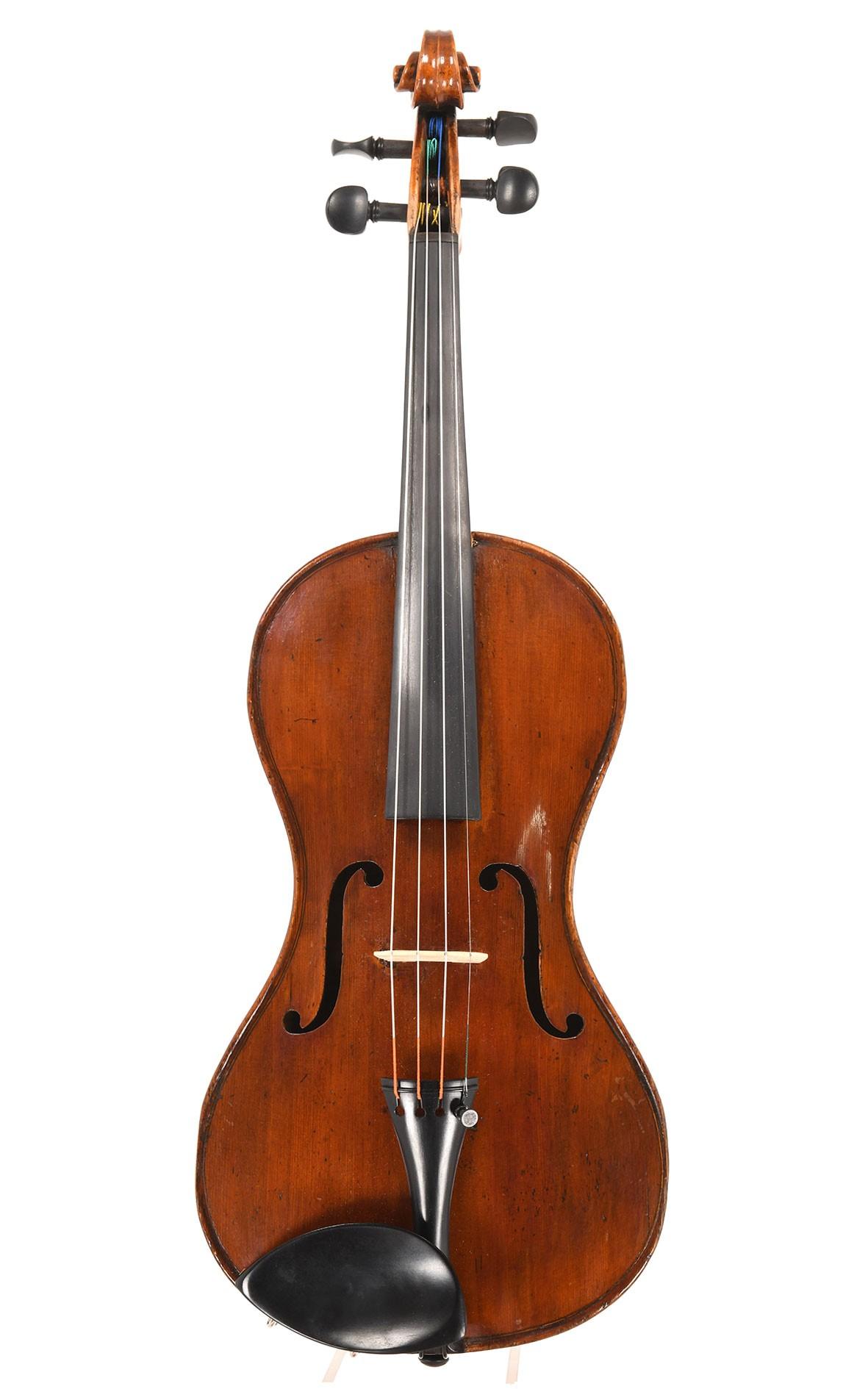 Rare violon français antique c.1850 modèle Chanot