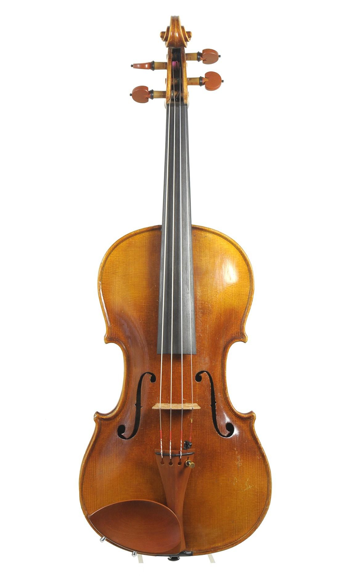 Zierliche Klingenthaler Violine um 1850