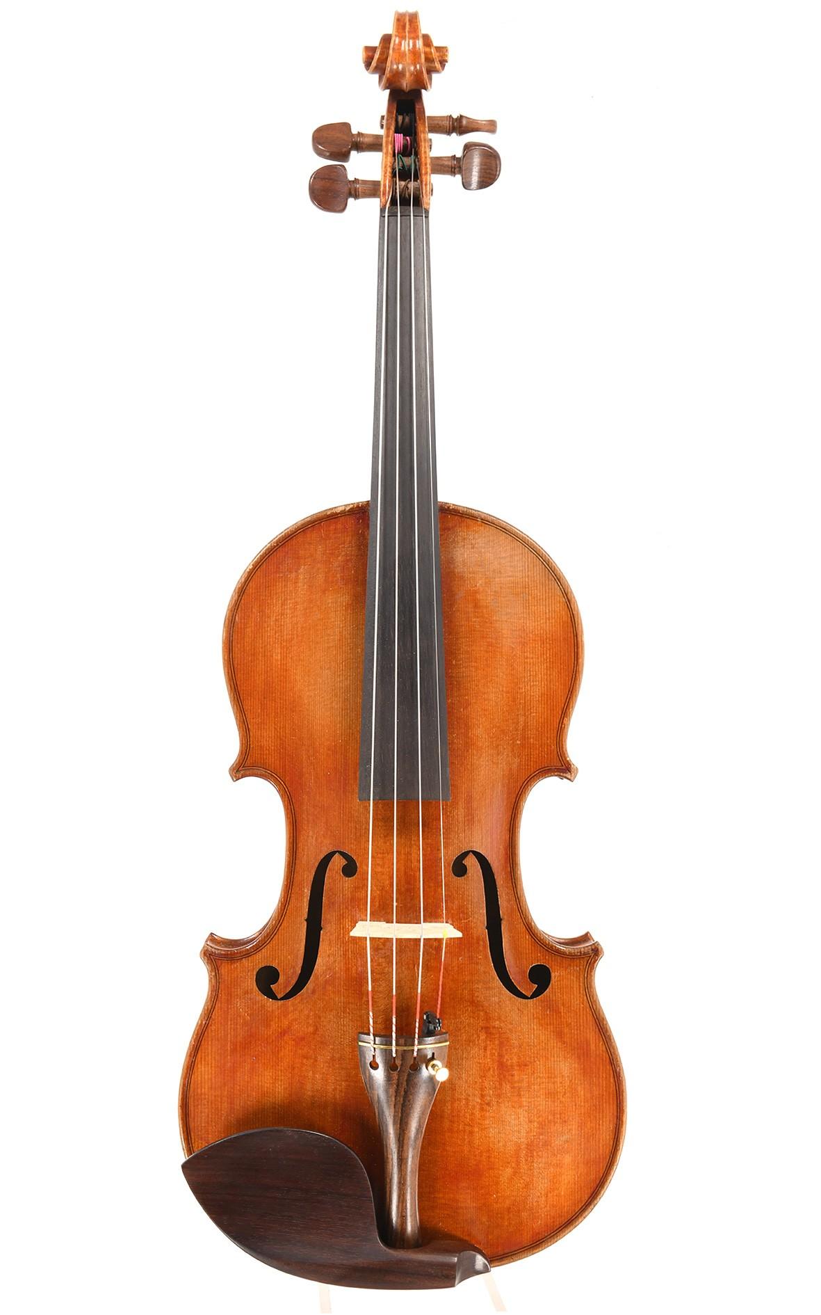 French violin by Jean Striebig, Mirecourt