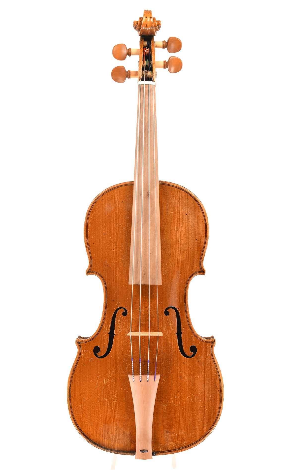 Baroque violin from Saxony, masterpiece, circa 1800