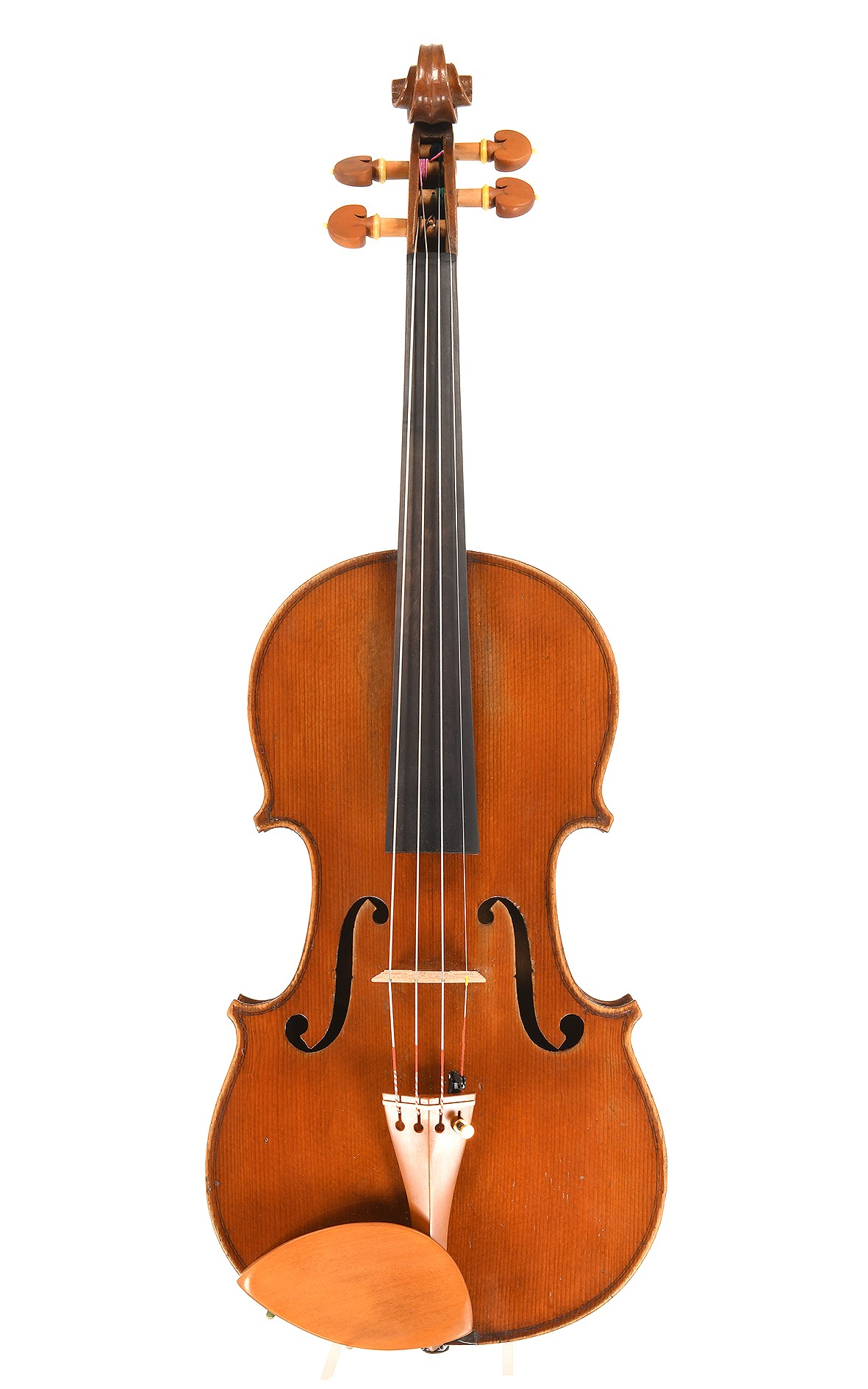 "Old French violin from Mirecourt ""Medio-Fino"" by J.T.L."