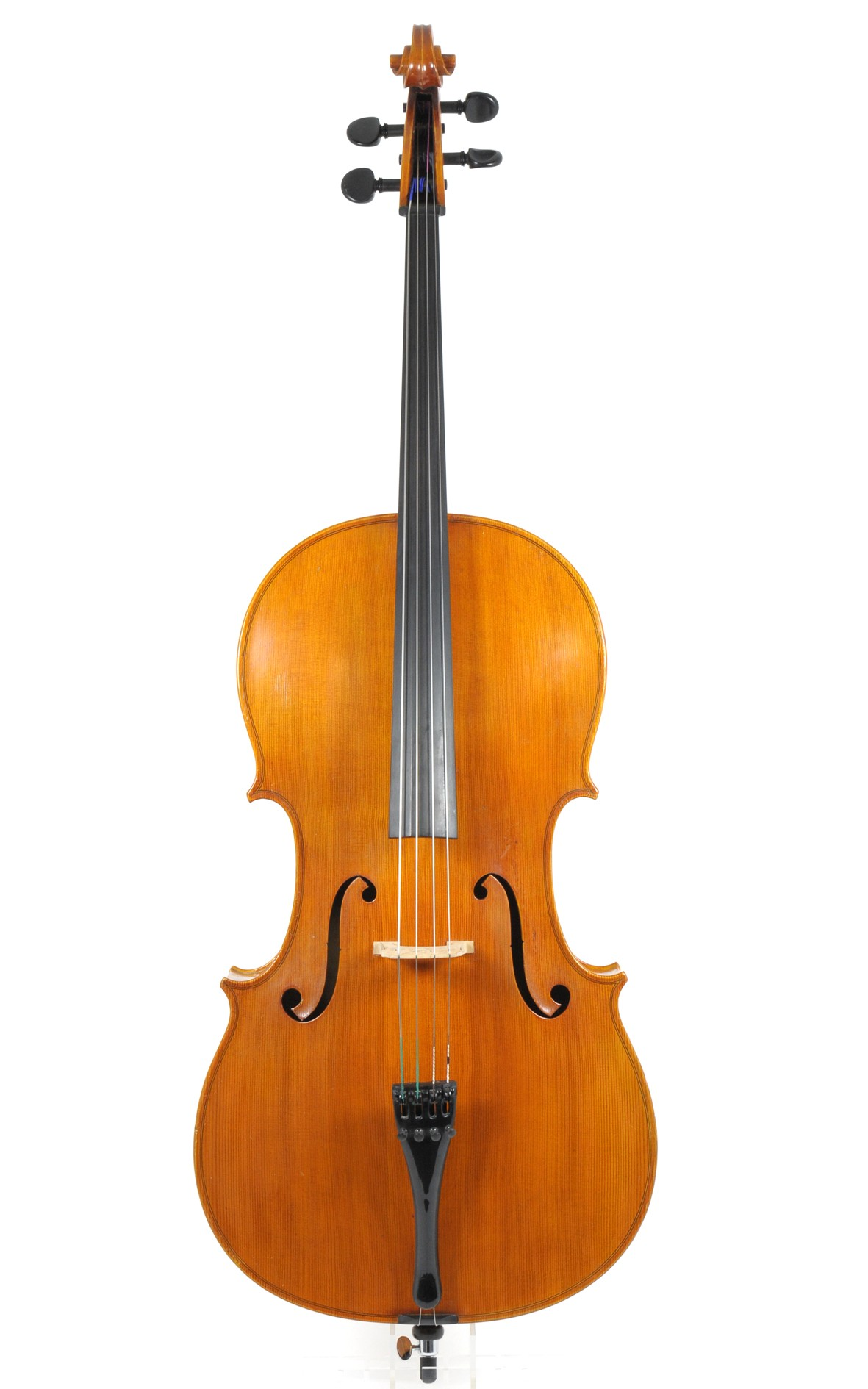 Master cello, Wenzel Fuchs approx. 1970 - table