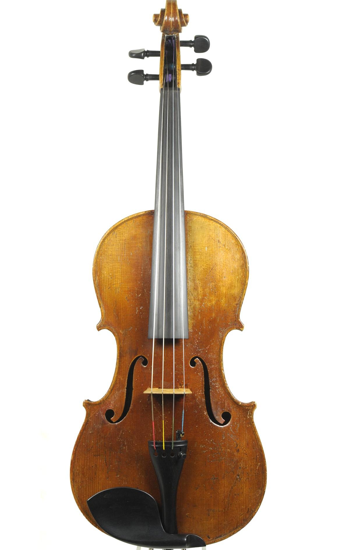 Antique 19th century Vienna viola, approx. 1870 - top