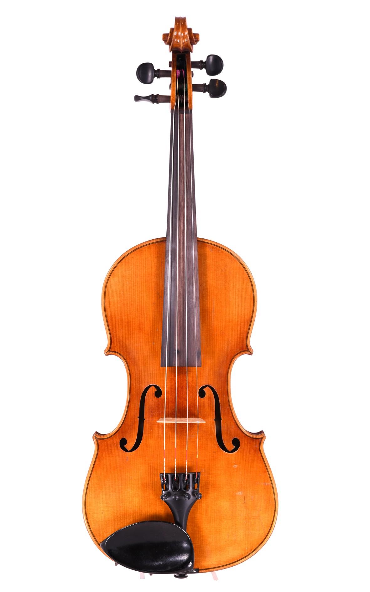 Alte deutsche Geige um 1920 - Decke