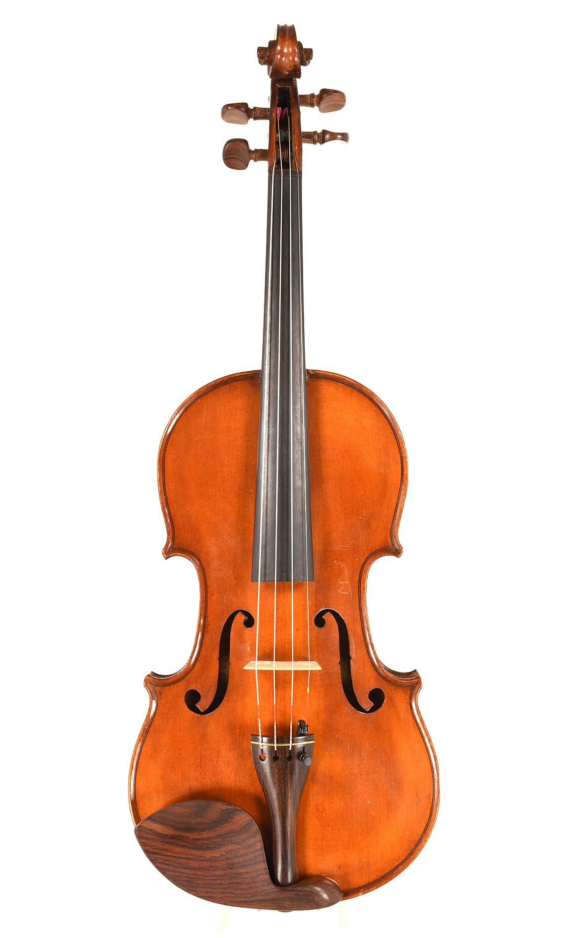 "Mirecourt violin ""Mansuy"" - top"