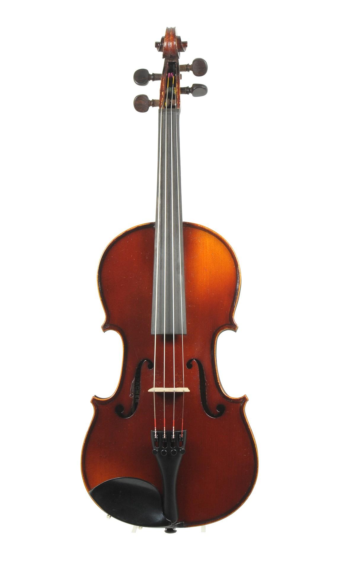 3/4 violin after Guarneri, Mirecourt - top view