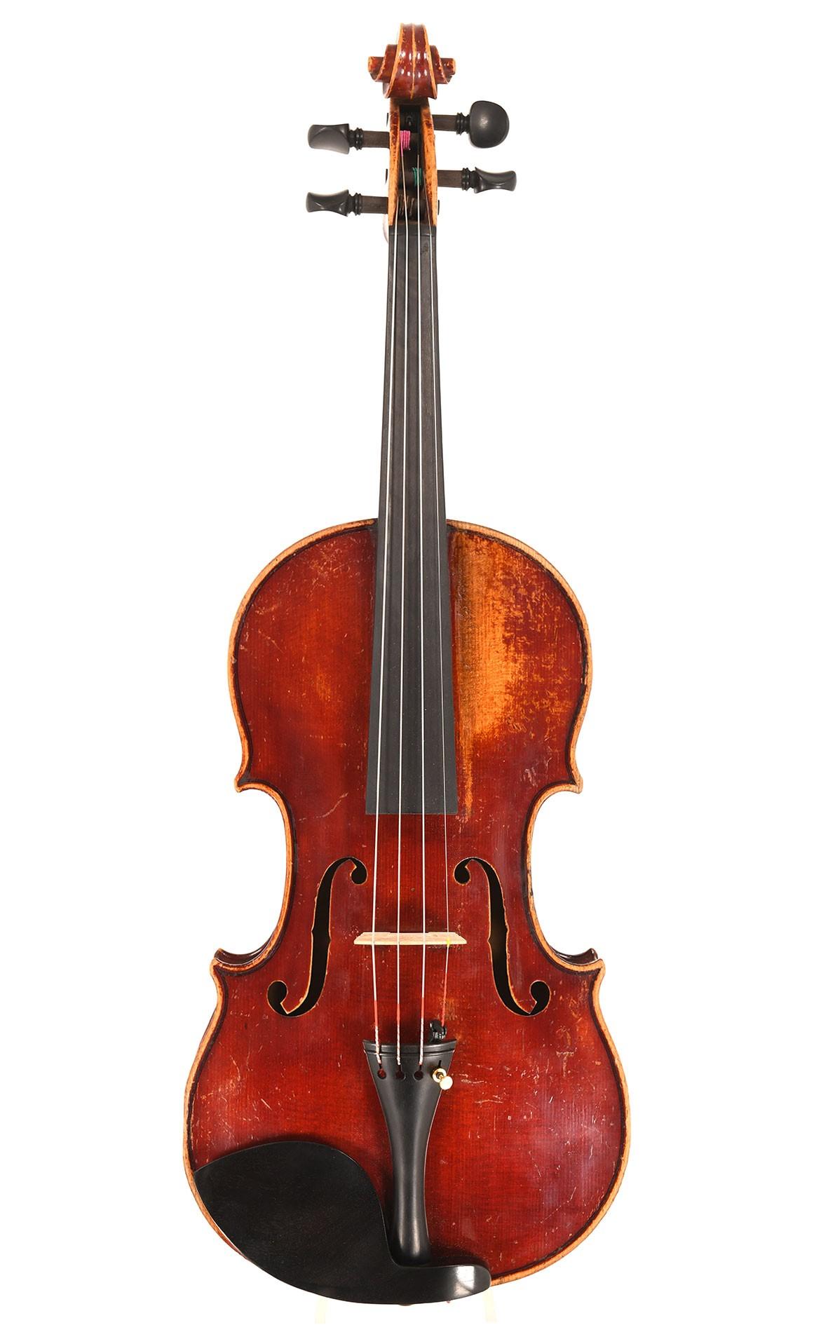 French master violin , probably Maucotel Mirecourt