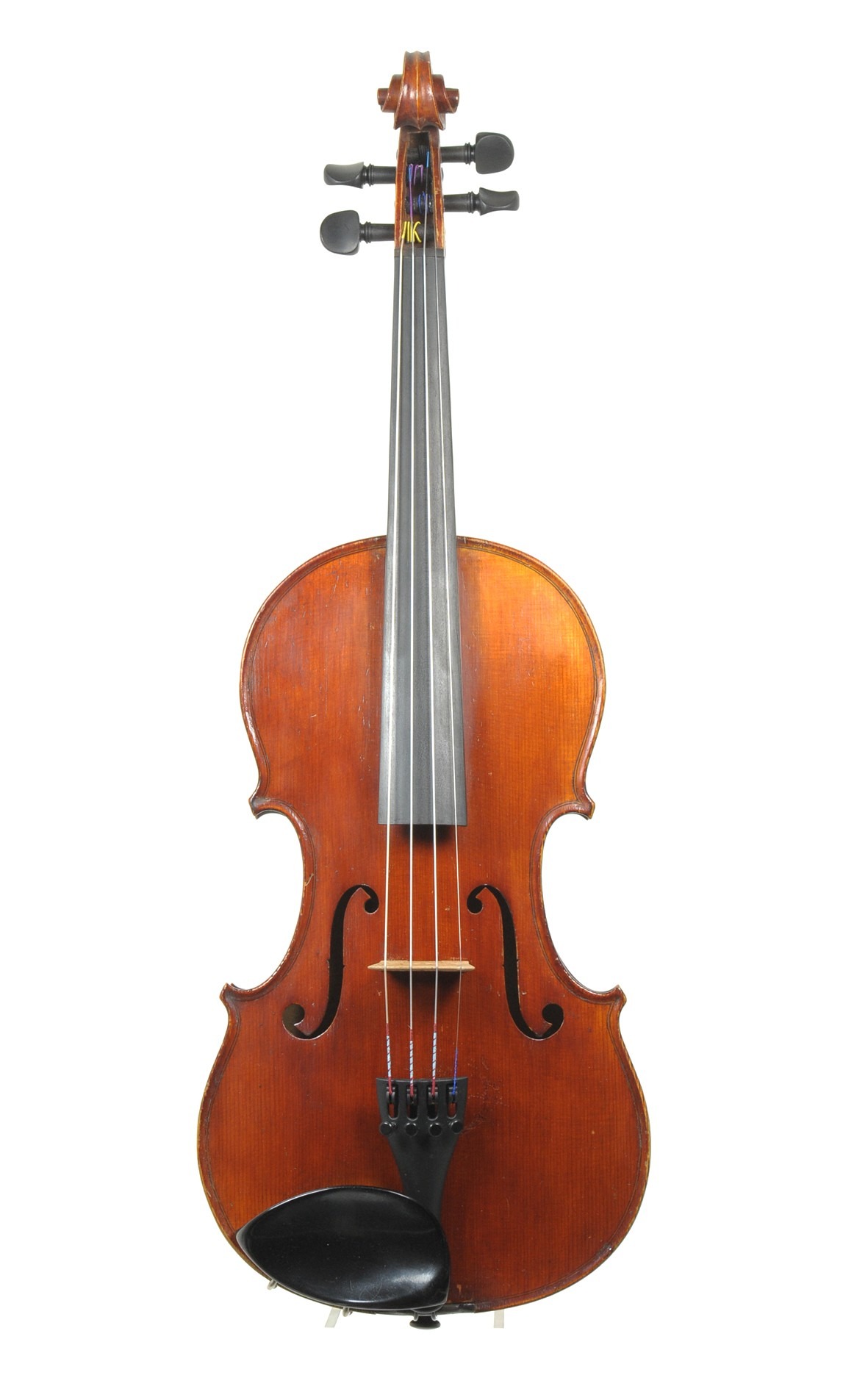 Philipp Keller, master violin, circa 1910 - top