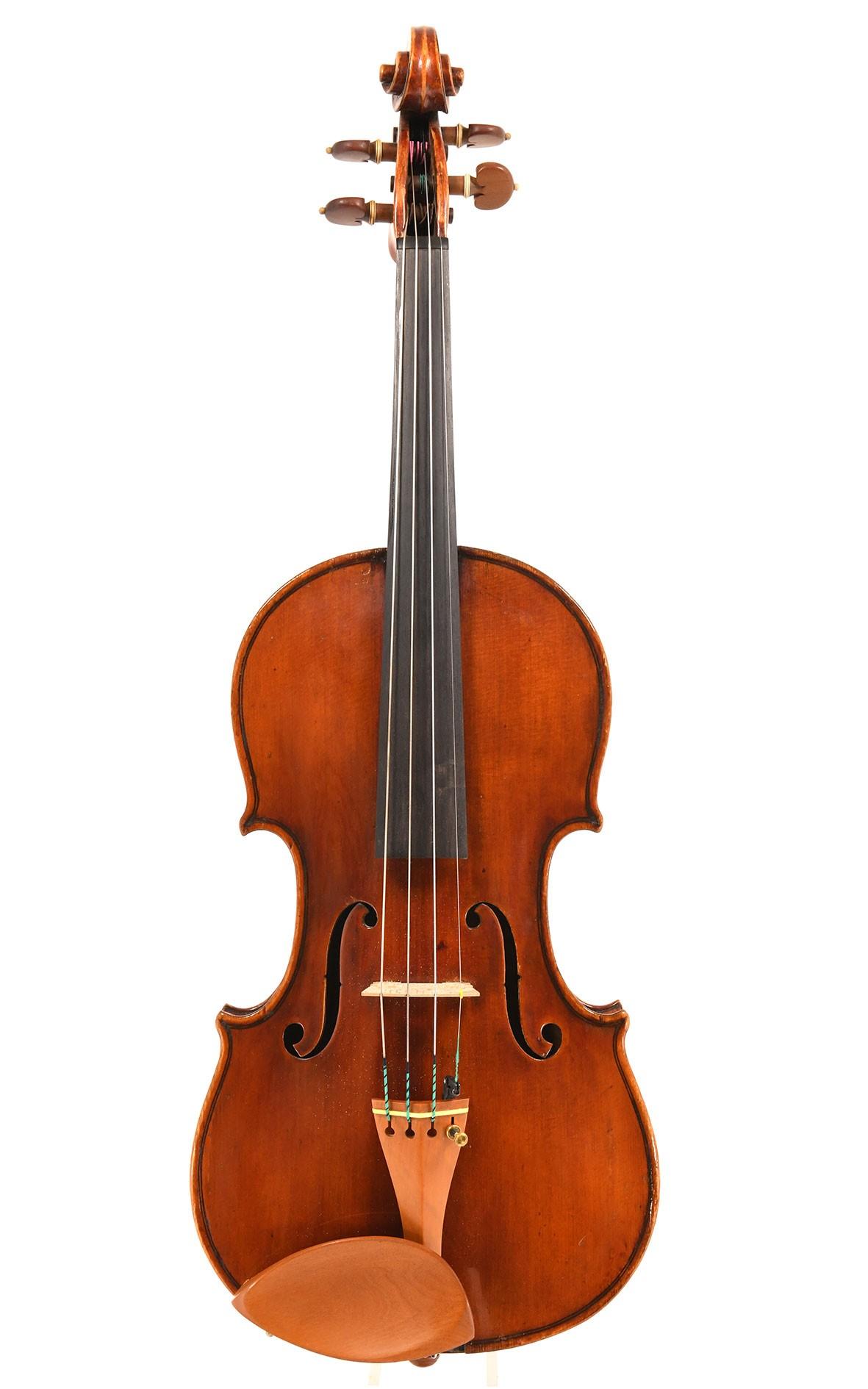 Feine italienische Geige (Zertifikat Carlson & Neumann)