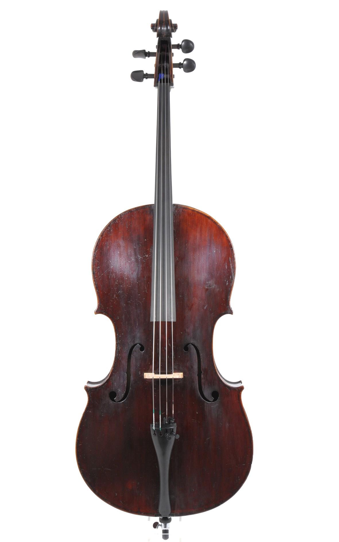 Englisches Violoncello, um 1850 - Decke