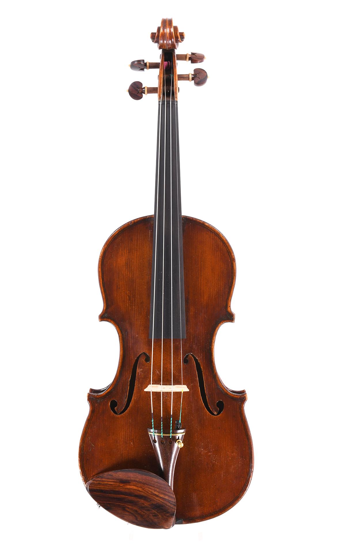 Italian violin by Raffaele Bozzi