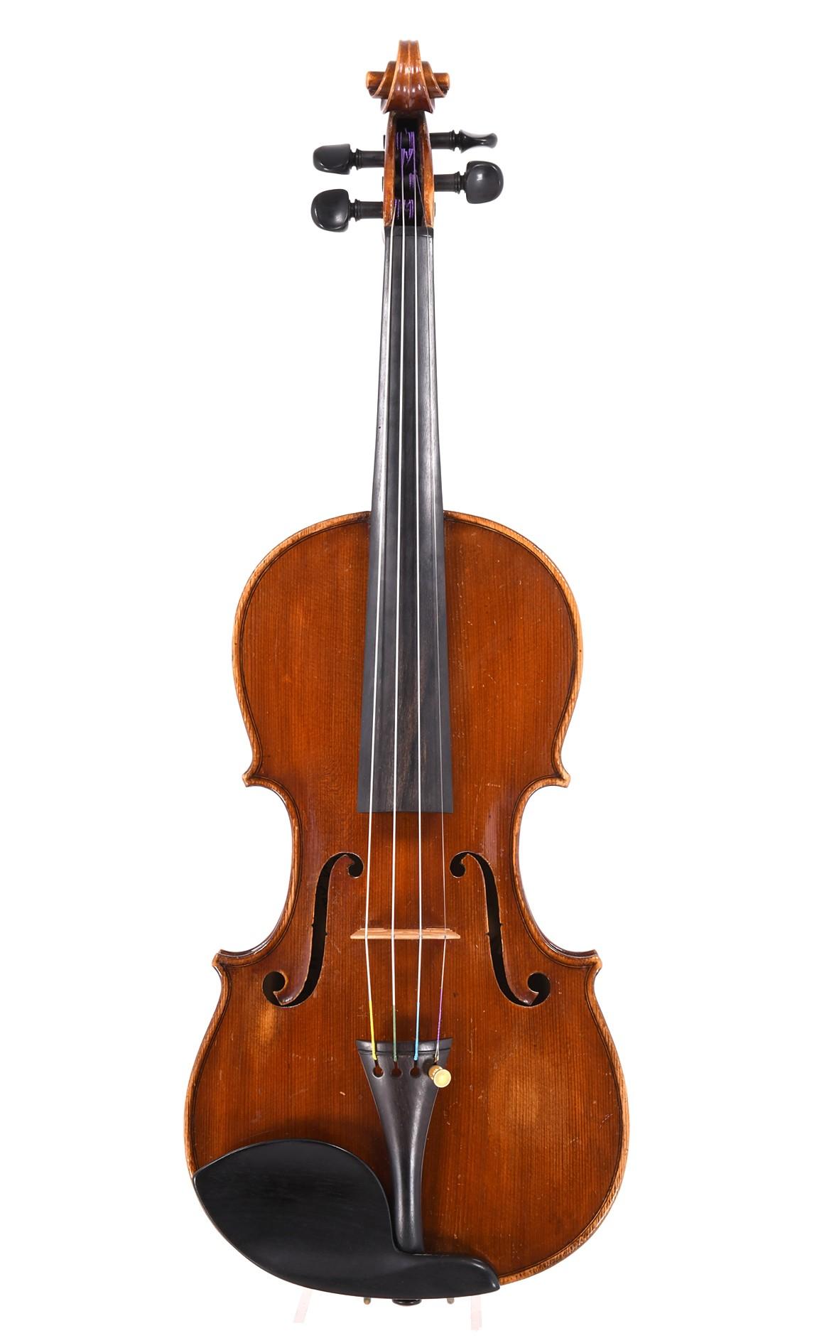 Modern Italian violin by Loris Lanini
