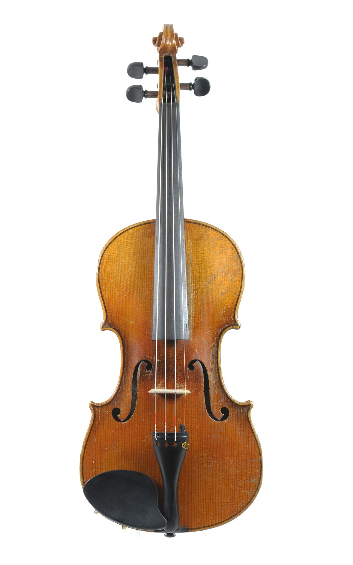 Violin from Saxony, approx. 1900 - top