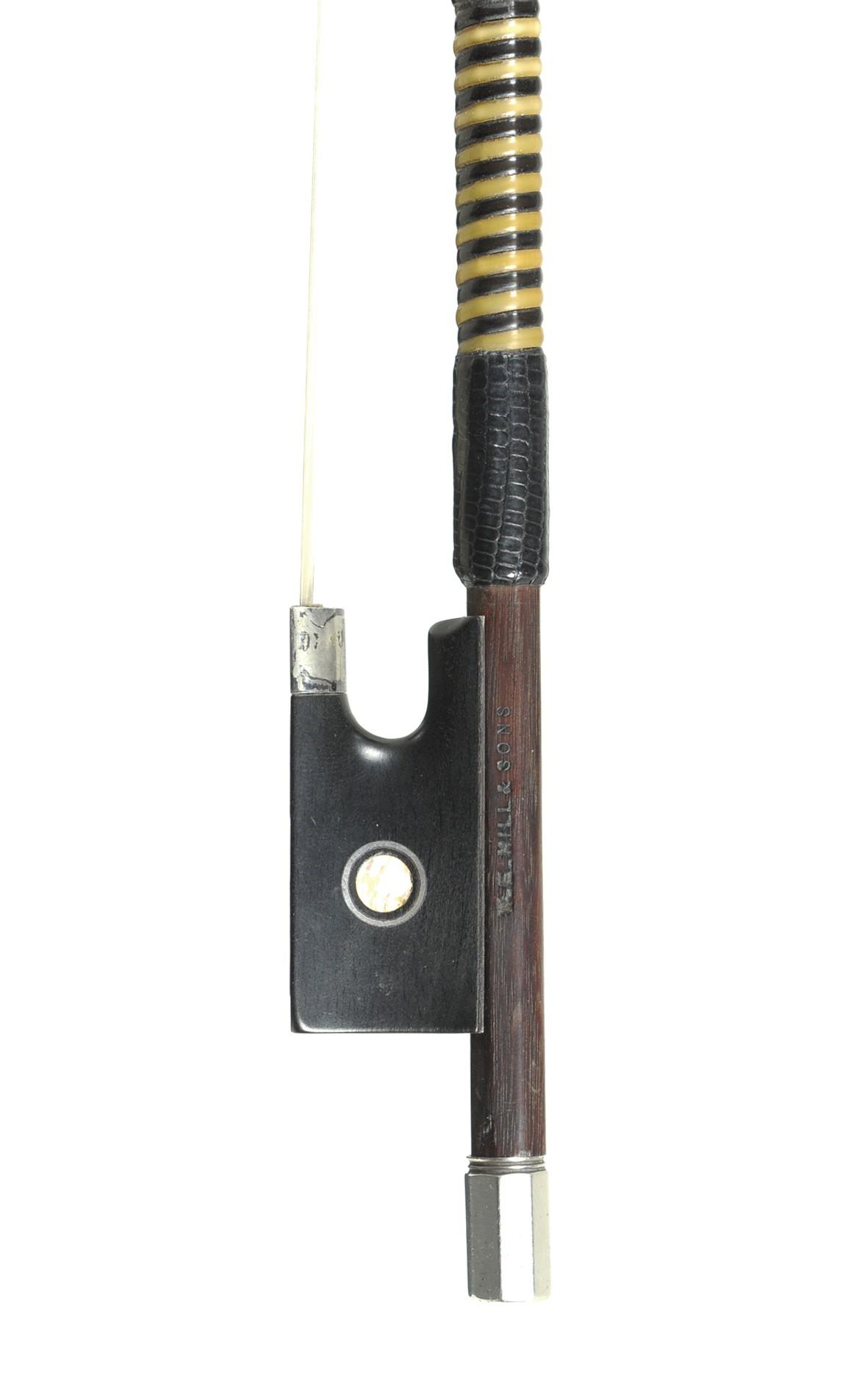 Finer englischer Geigenbogen, wahr. Samuel Allen (W.E. Hill & Sons)