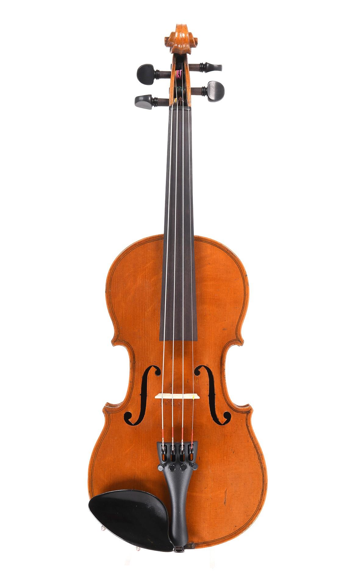 Seltene antike französische 1/2 Violine aus Mirecourt