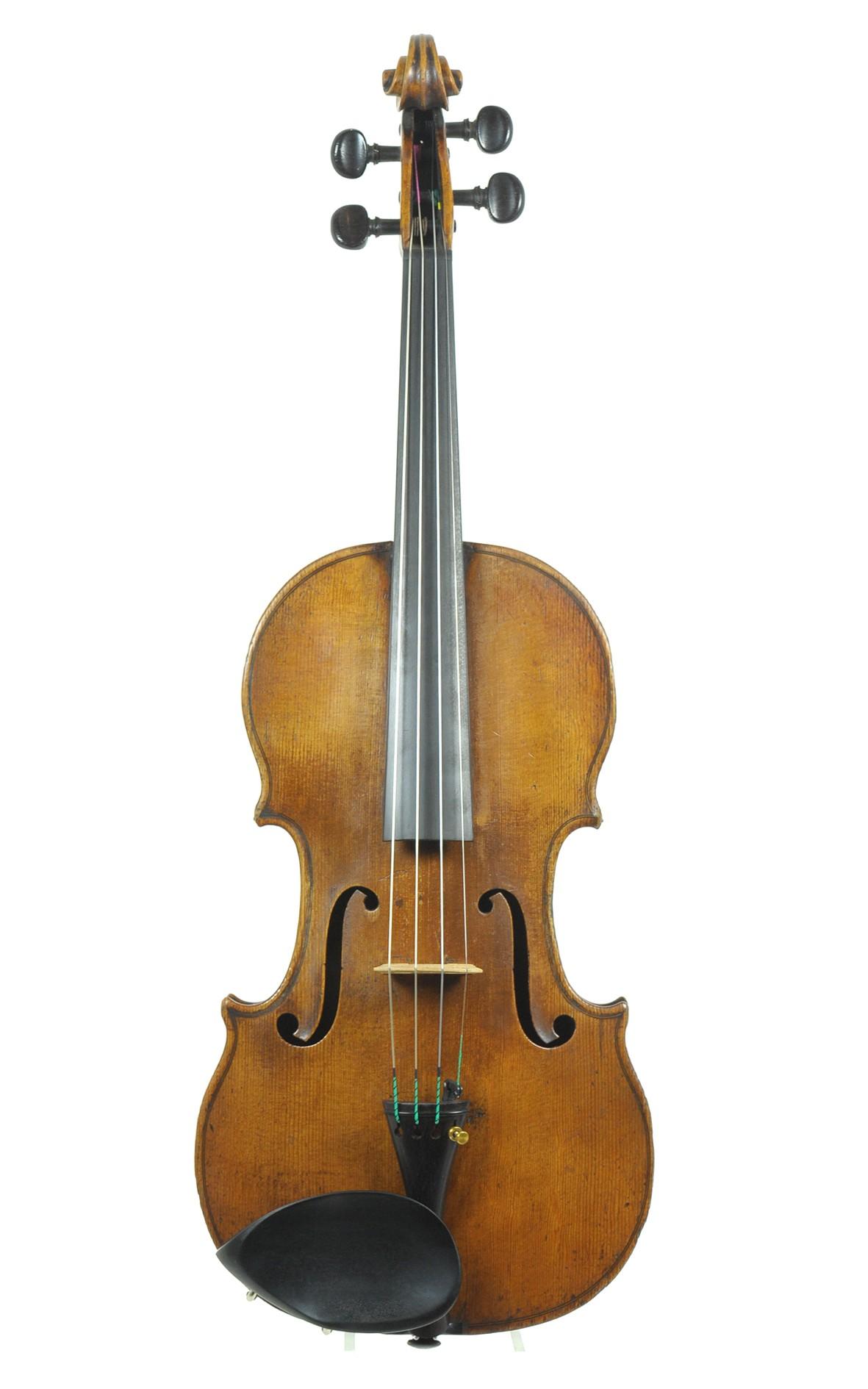 Didier Nicolas (L'Ainé), violin - spruce top