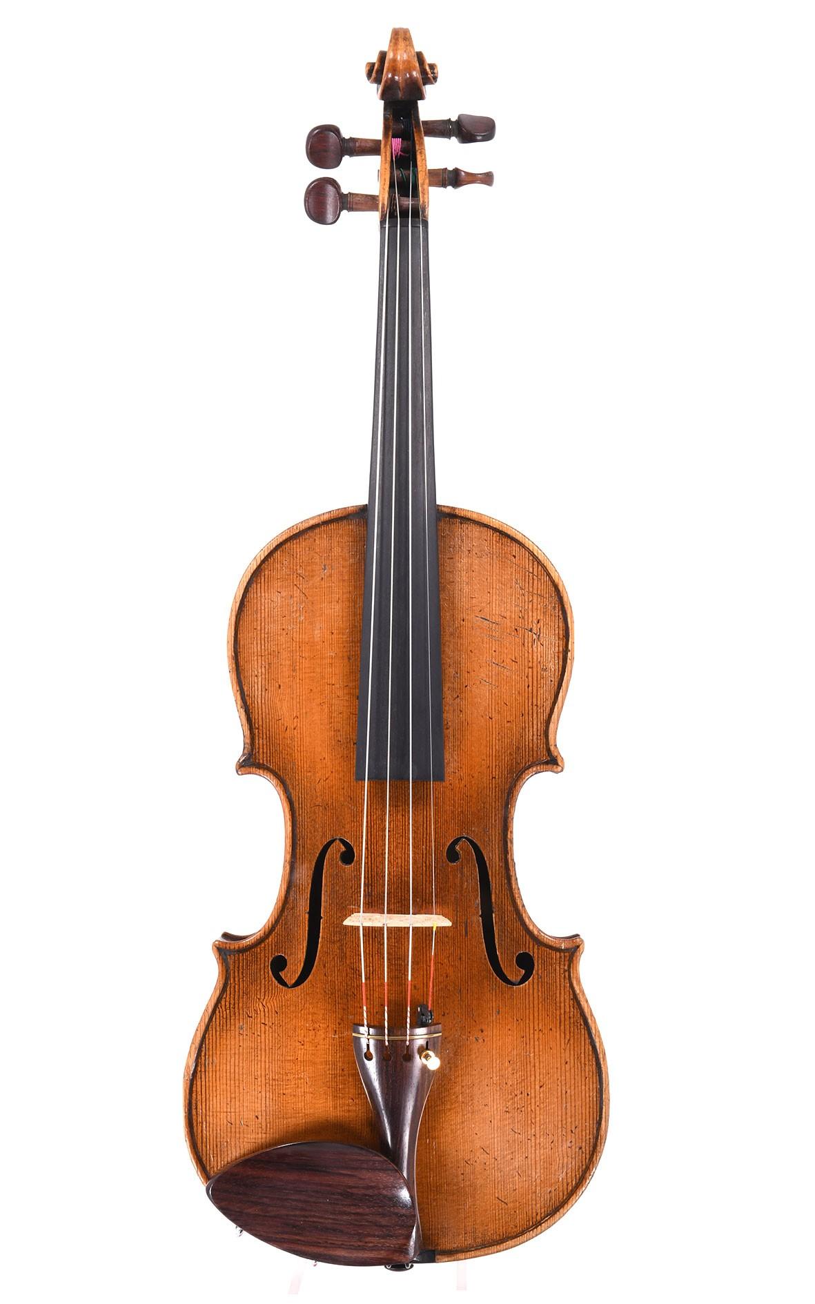 Geige von Schuster & Co. Markneukirchen nach Guarneri