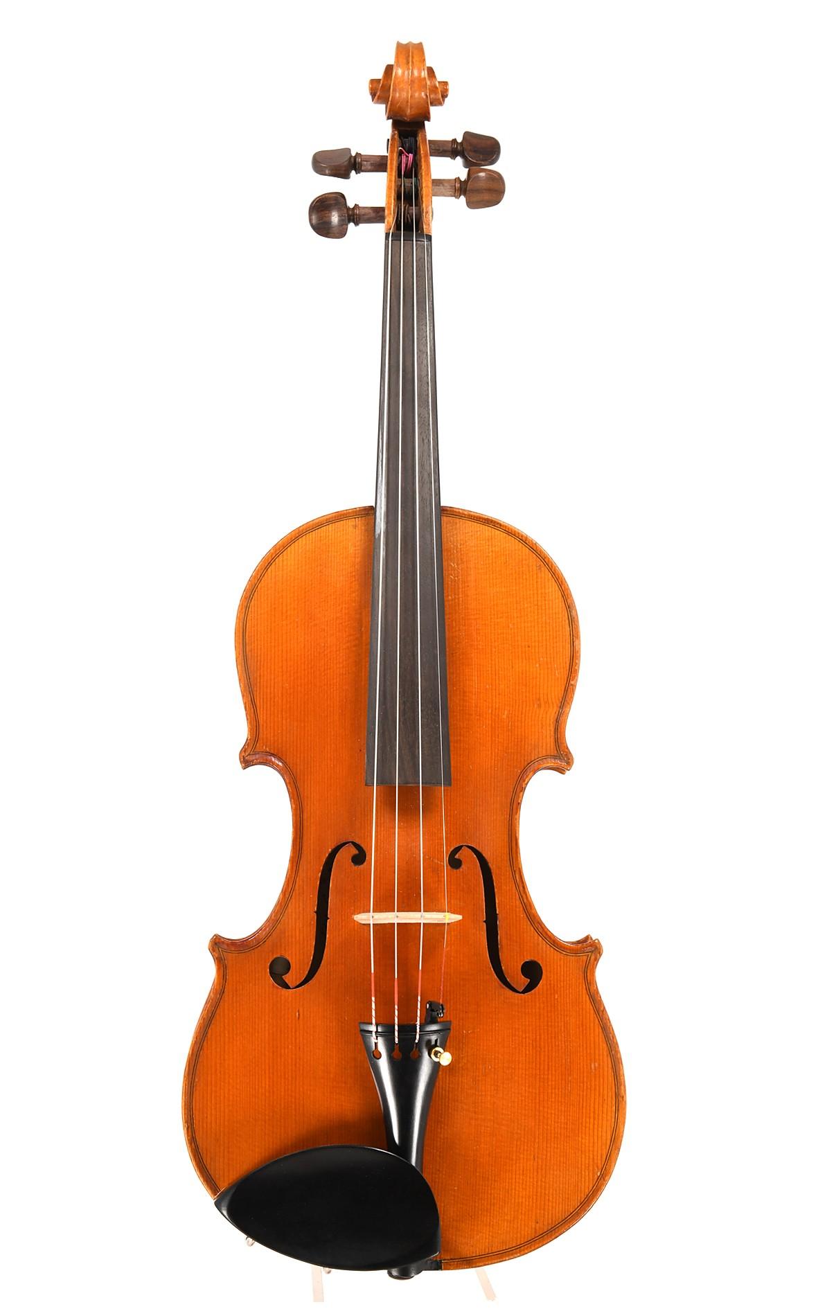 Antike Geige von Georg Nebel, Mittenwald, gebaut 1909