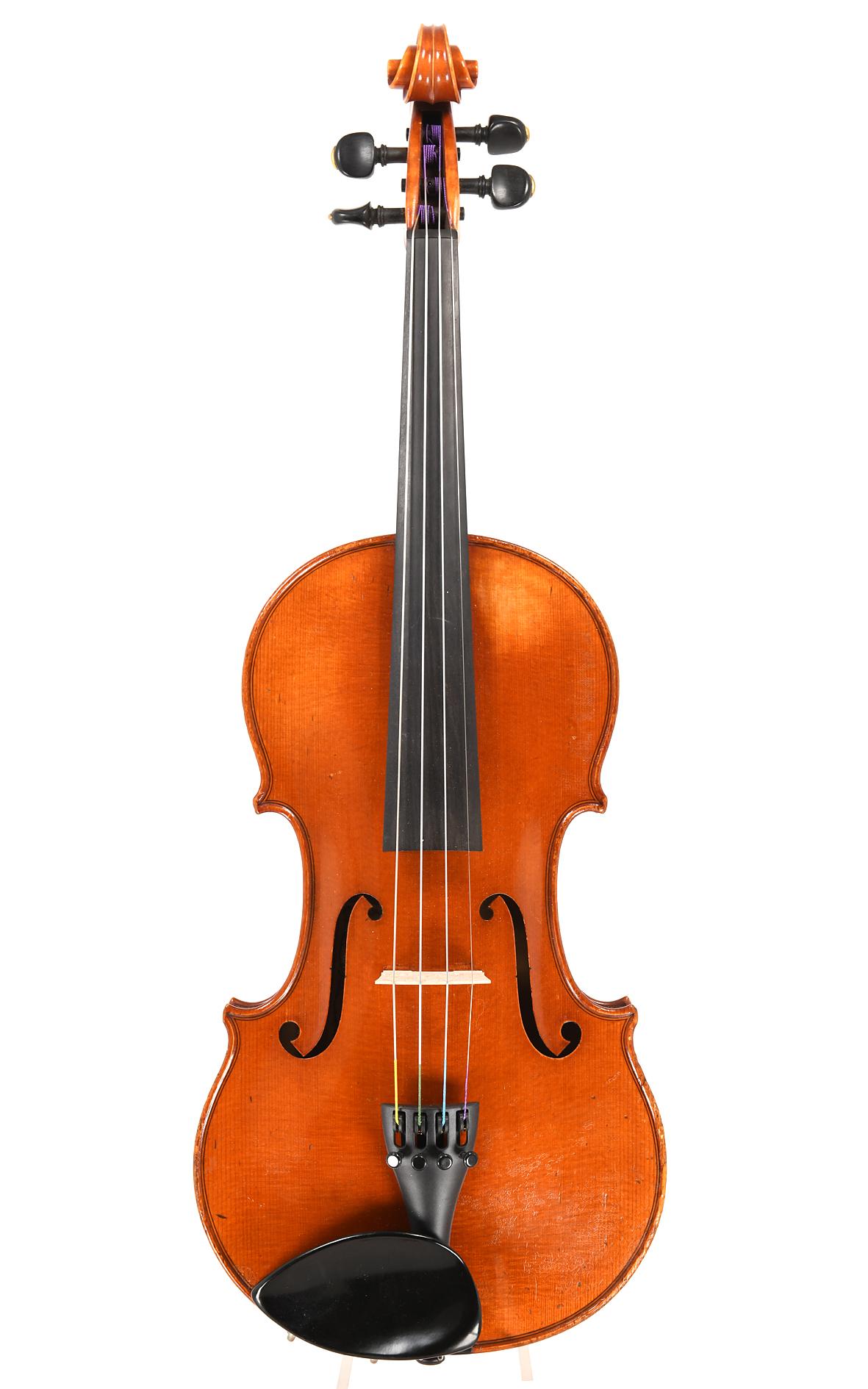 Zeitgenössische Geige von Joseph Kantuscher, Mittenwald