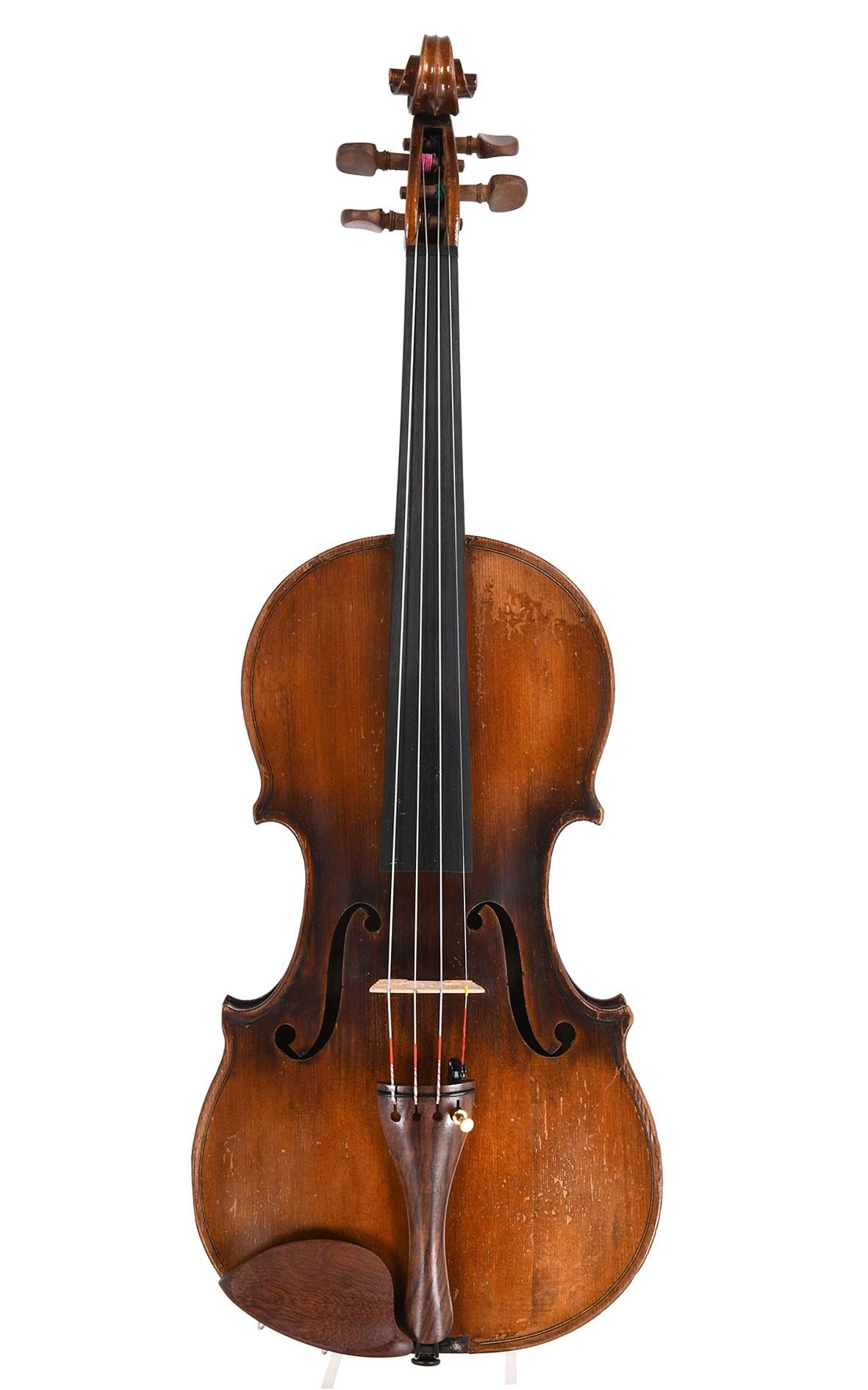 Antike Französische Geige aus Mirecourt, um 1900
