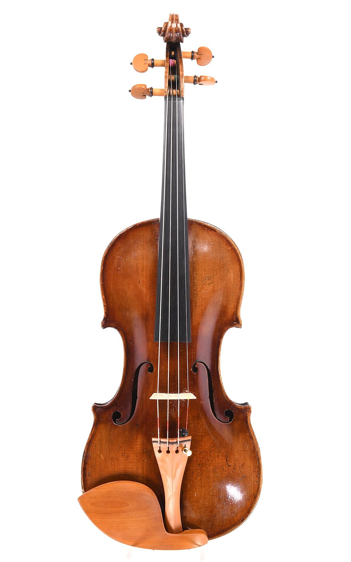 Antique Czech violin. 19th century - table