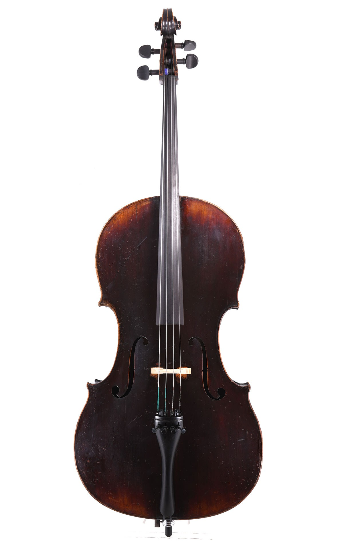 Antikes Cello um 1850