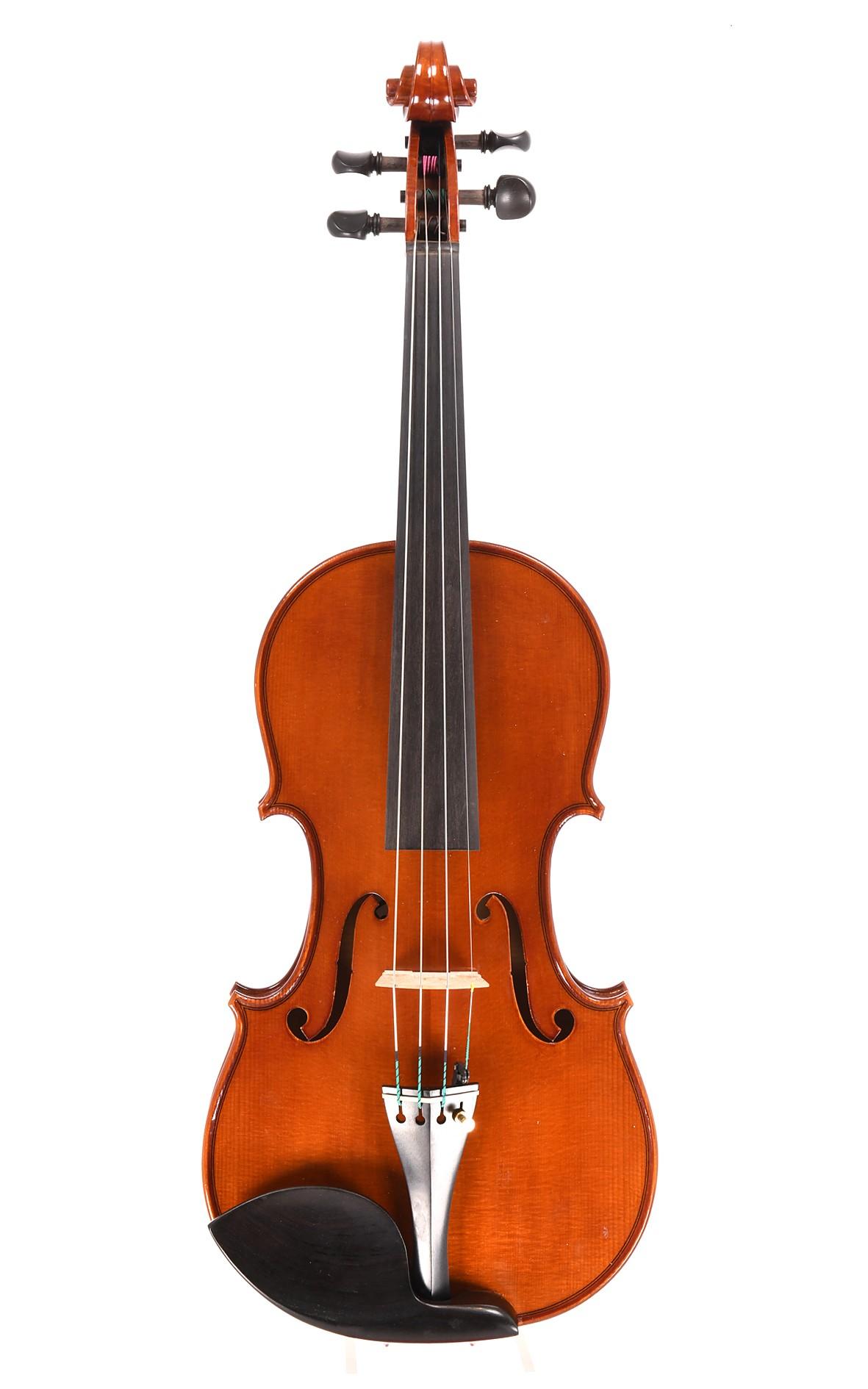 Italian violin by Giorgio Grisales, Cremona, 1993 (certificate by Giorgio Grisales)