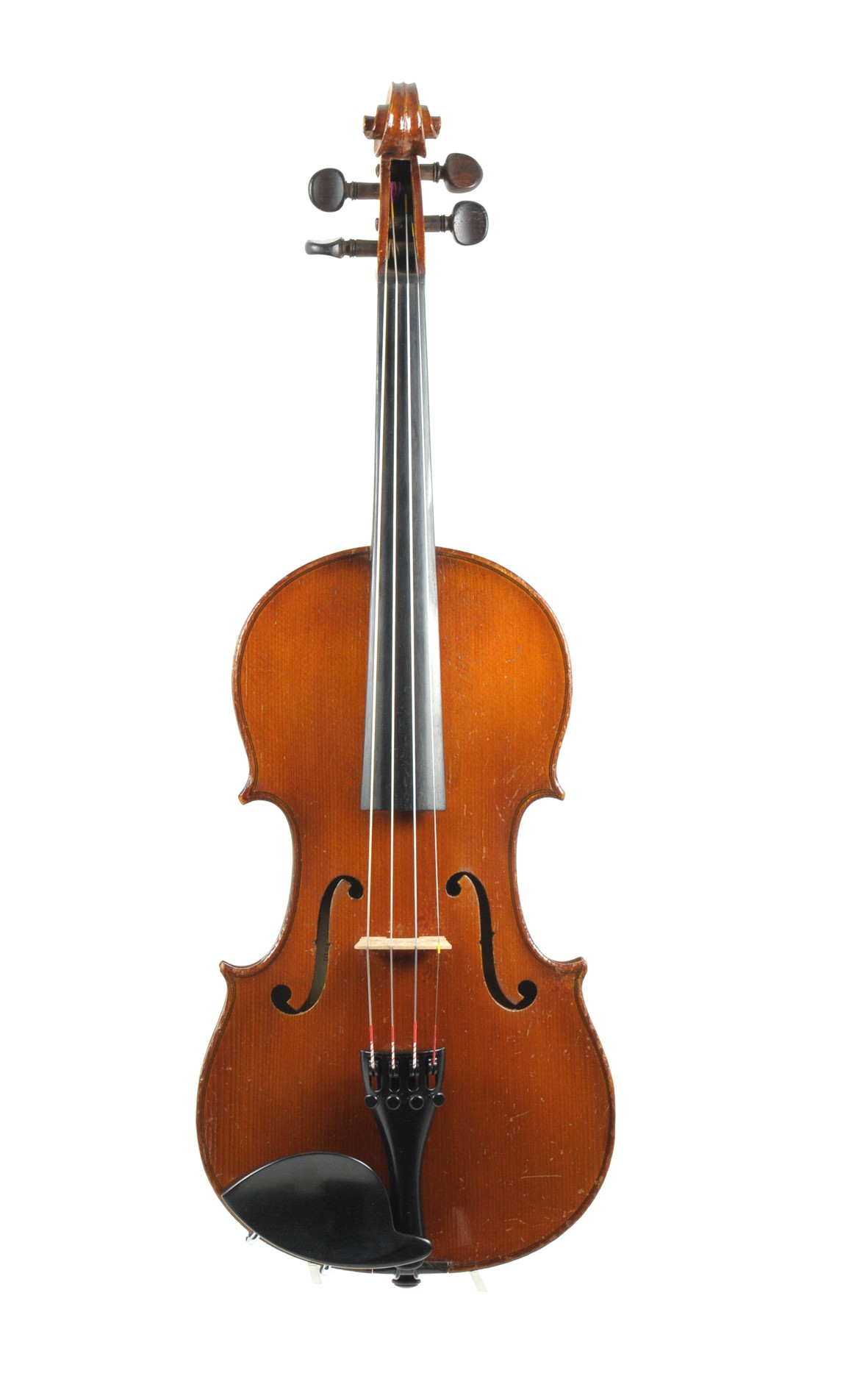 Nicolas Bertholini  3/4 violin, Laberte-Humbert approx. 1920 - front view