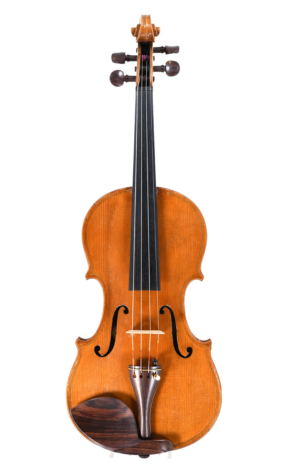 Old Markneukirchen violin with a warm sound, 1930's