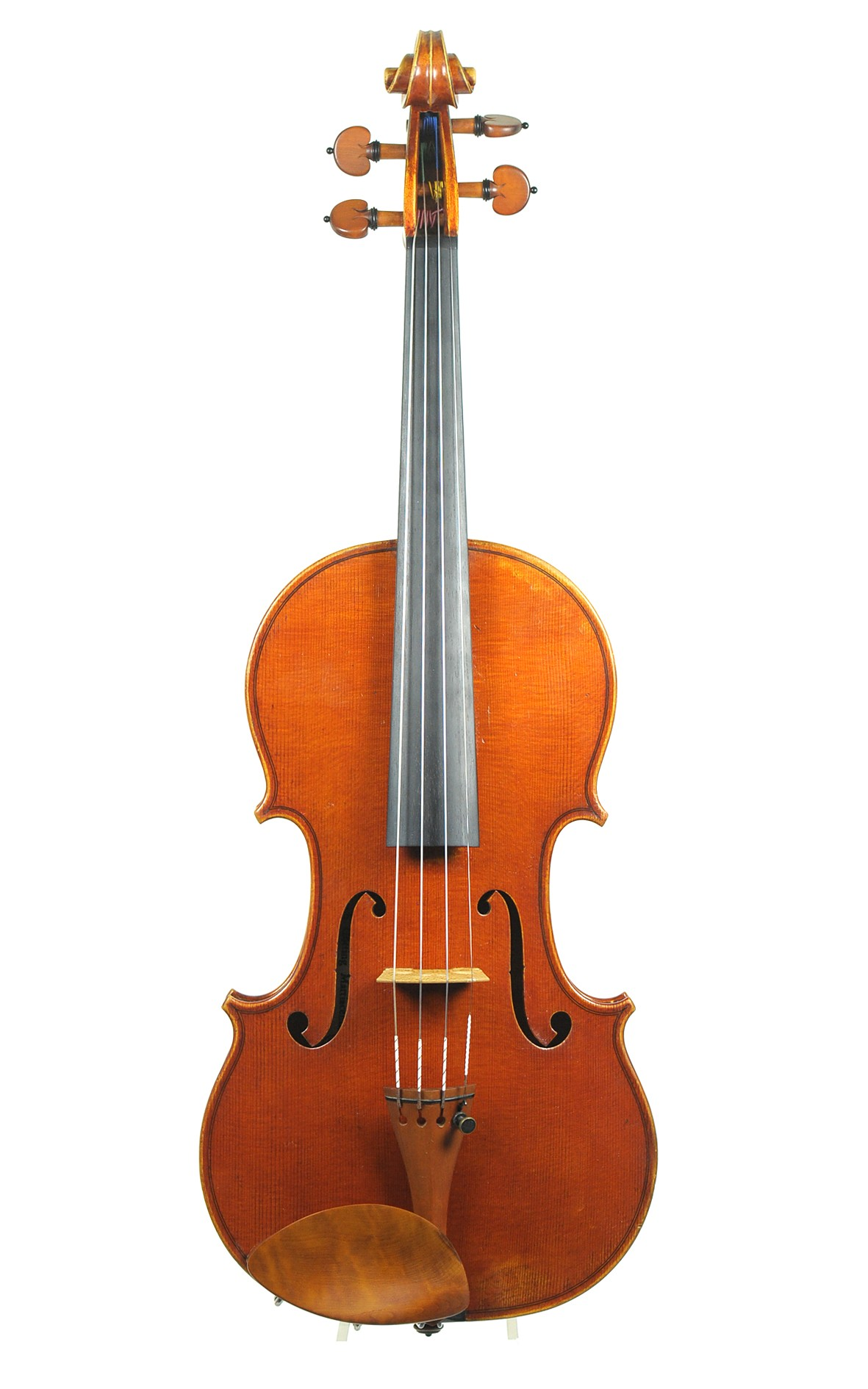 Christoph Götting, contemporary elite master violin - top view