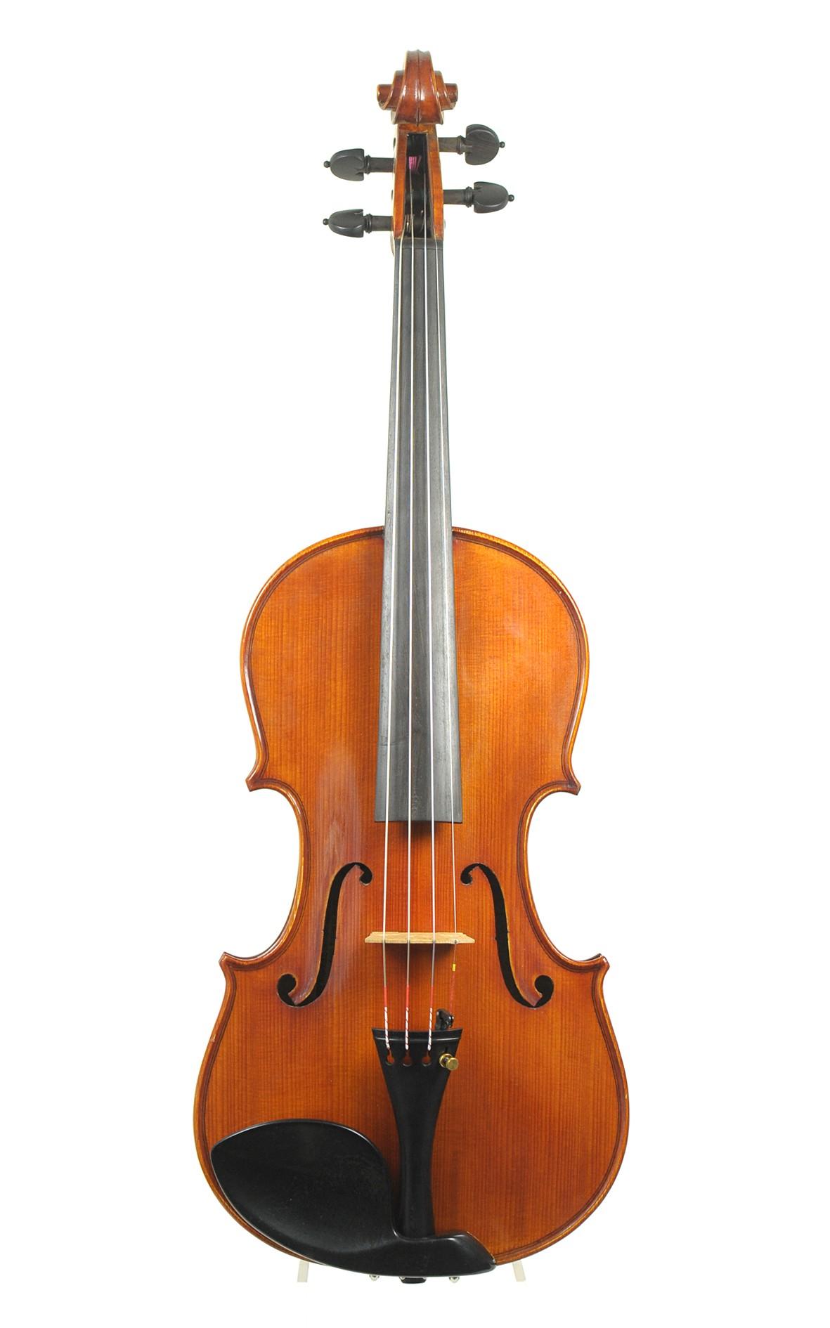 Moderne Violine von Beare & Son, Beijing 1995 - Decke aus Fichte